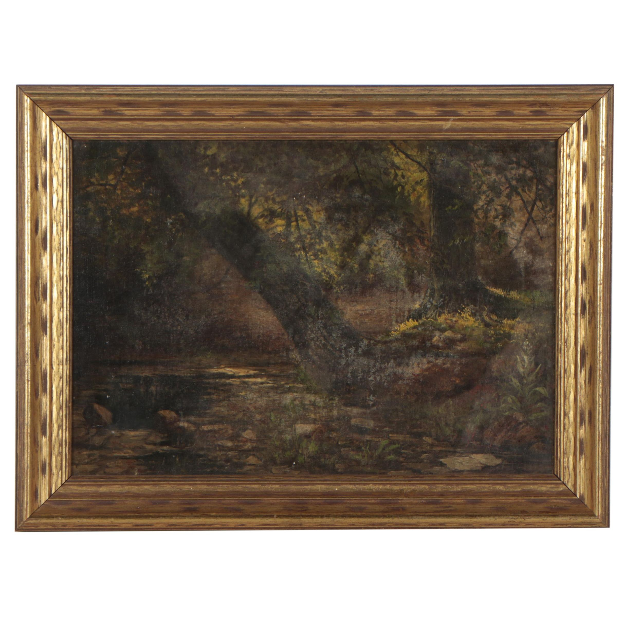 Early 20th Century Oil Painting