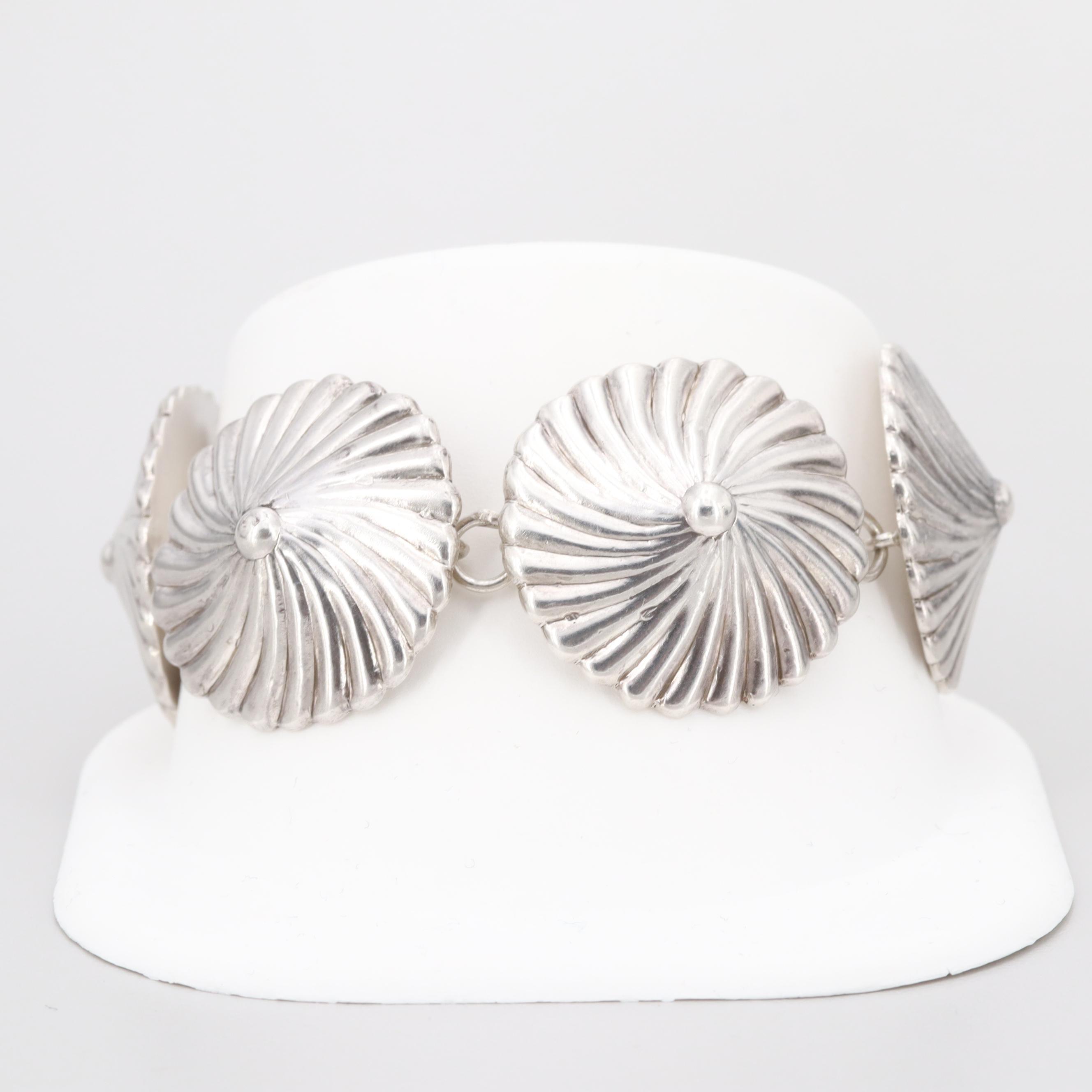 Los Castillo Sterling Silver Bracelet