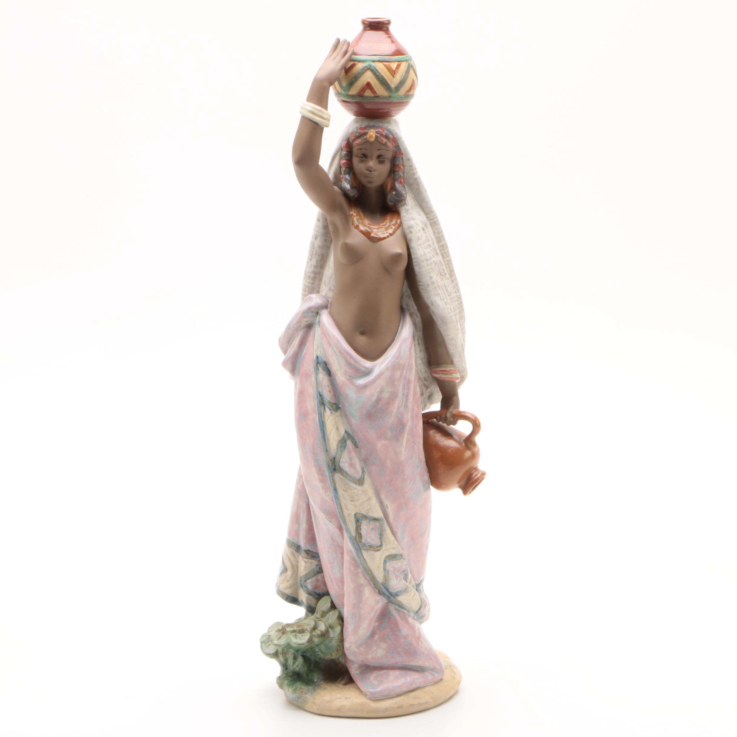 """Lladró """"Africa"""" Porcelain Figurine, 1998"""
