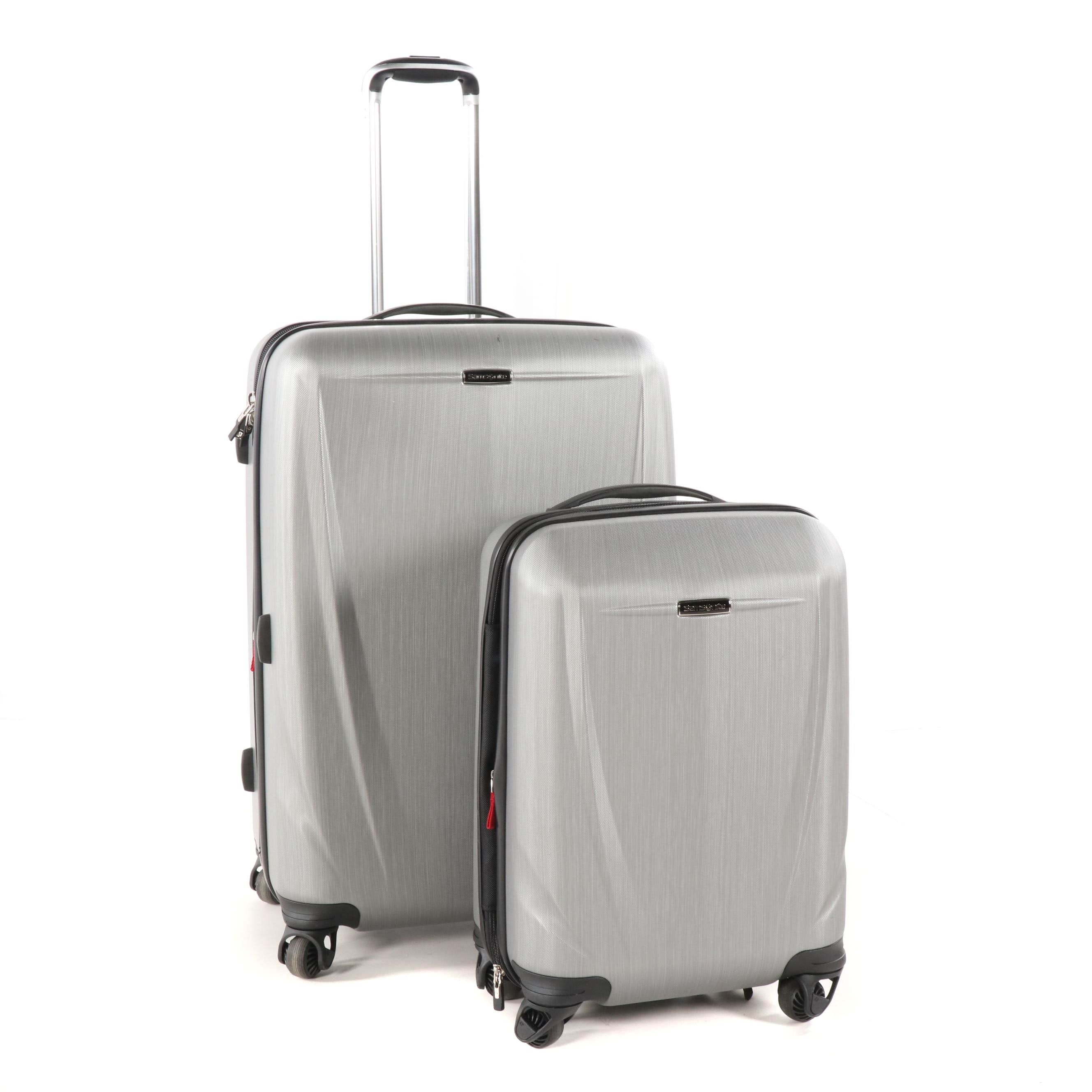 Samsonite Sphere DLX Grey Two-Piece Hardside Spinner Luggage Set