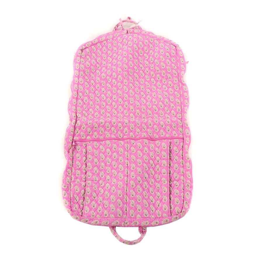 57ba204d3d Vera Bradley Quilted Bermuda Pink Garment Bag   EBTH