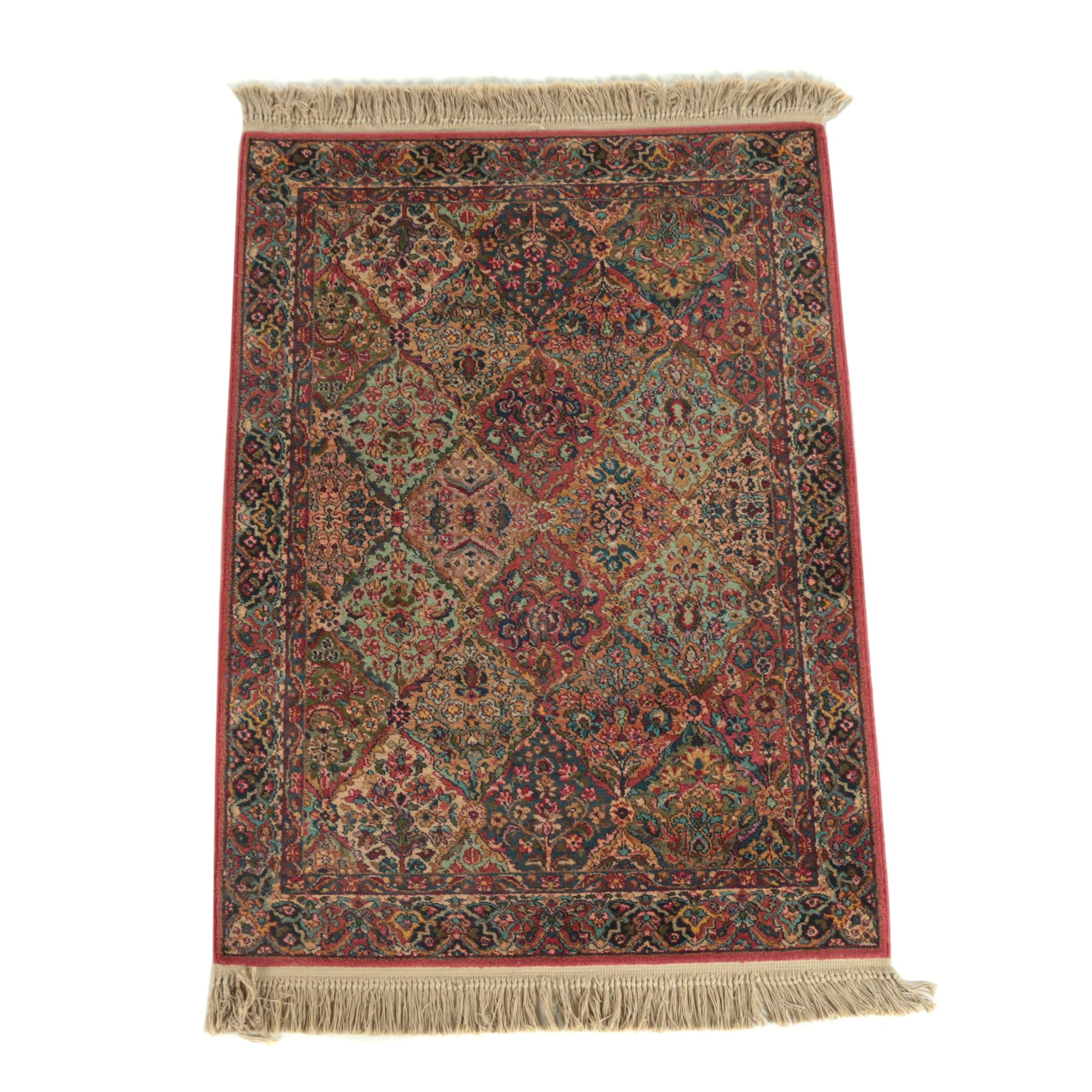 "Power Loomed Karastan ""Multicolor Panel Kirman"" Wool Area Rug"