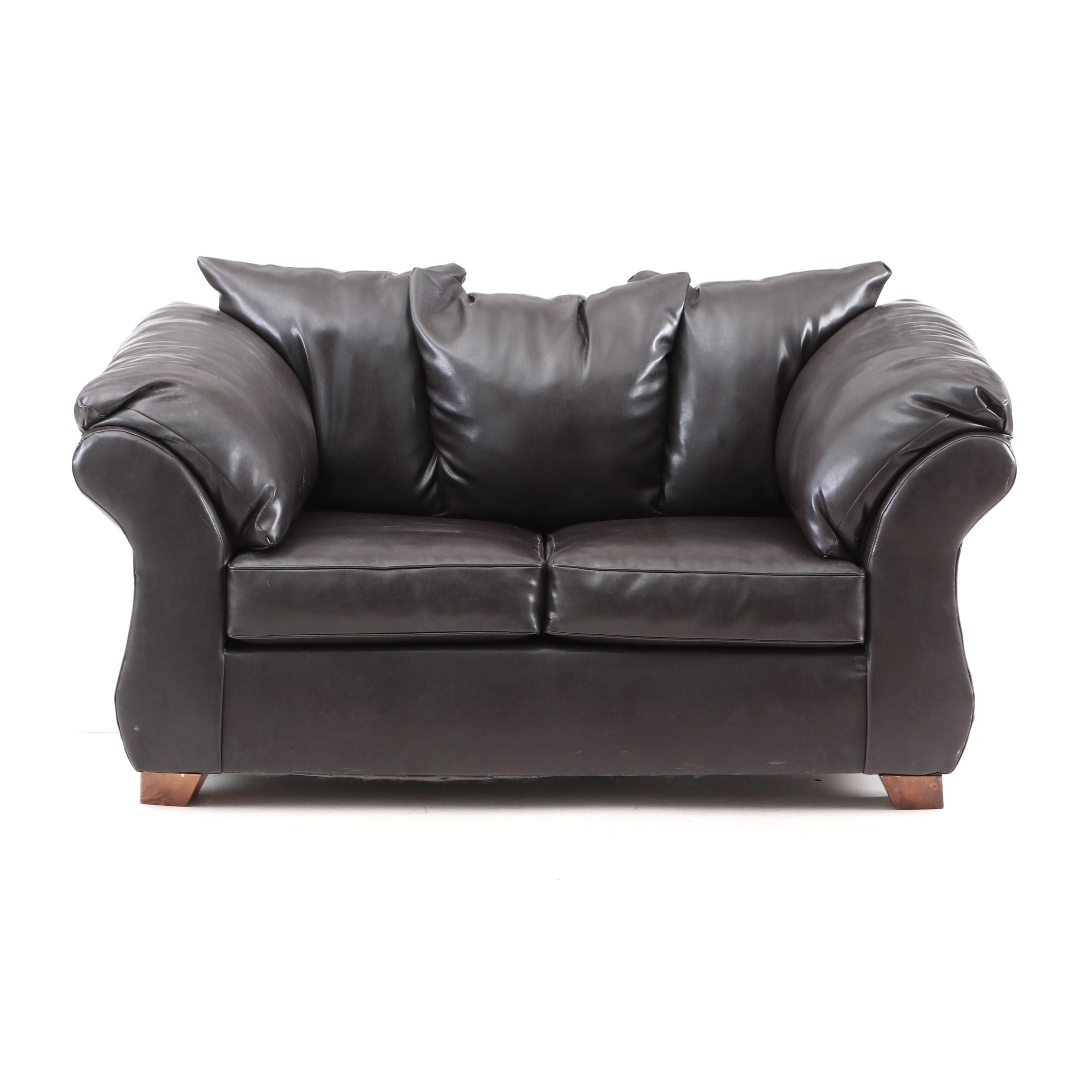 Love Seat in Mocha Brown by United Furniture