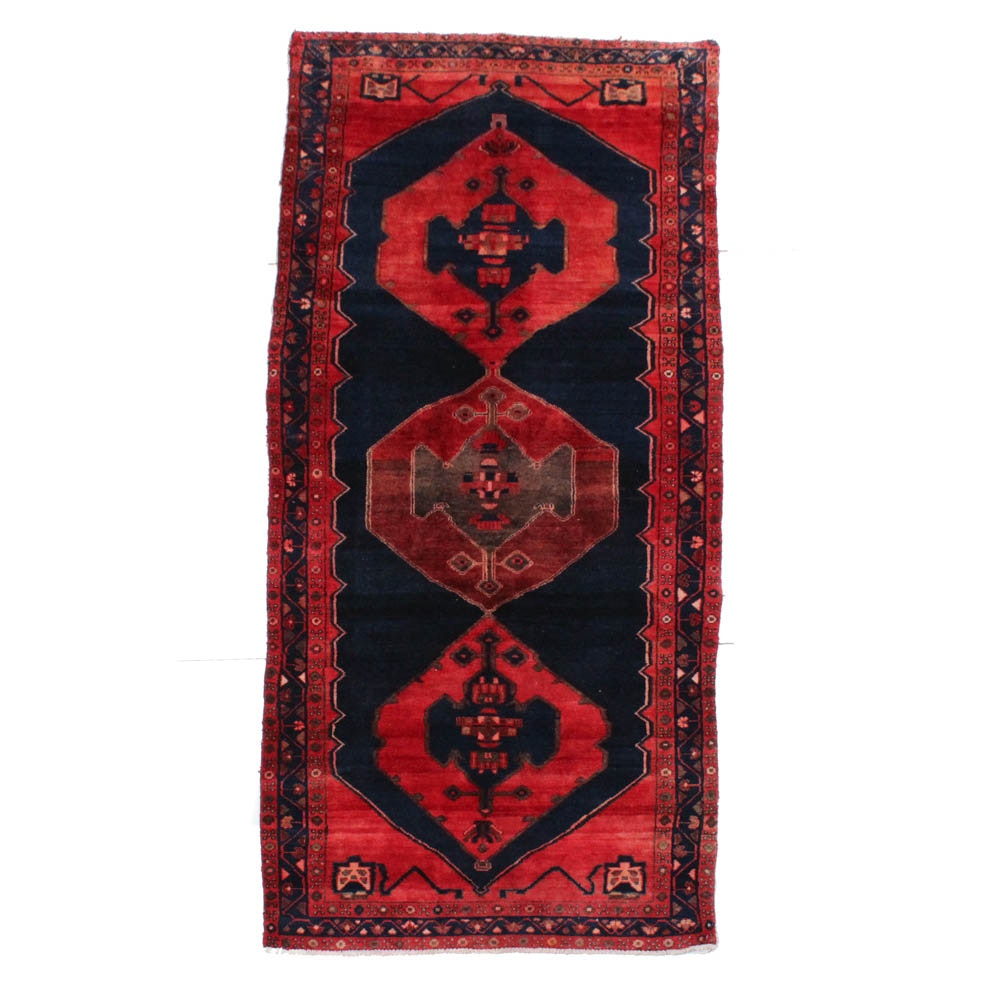 Hand-Knotted Northwest Persian Carpet Runner