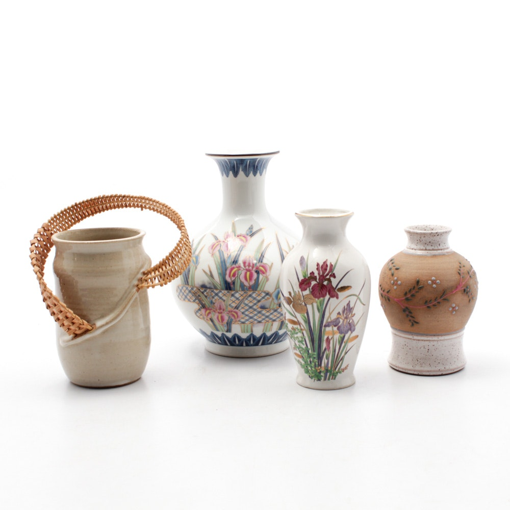 Decorative Vases Featuring Mary Ashley and Parsley Pottery