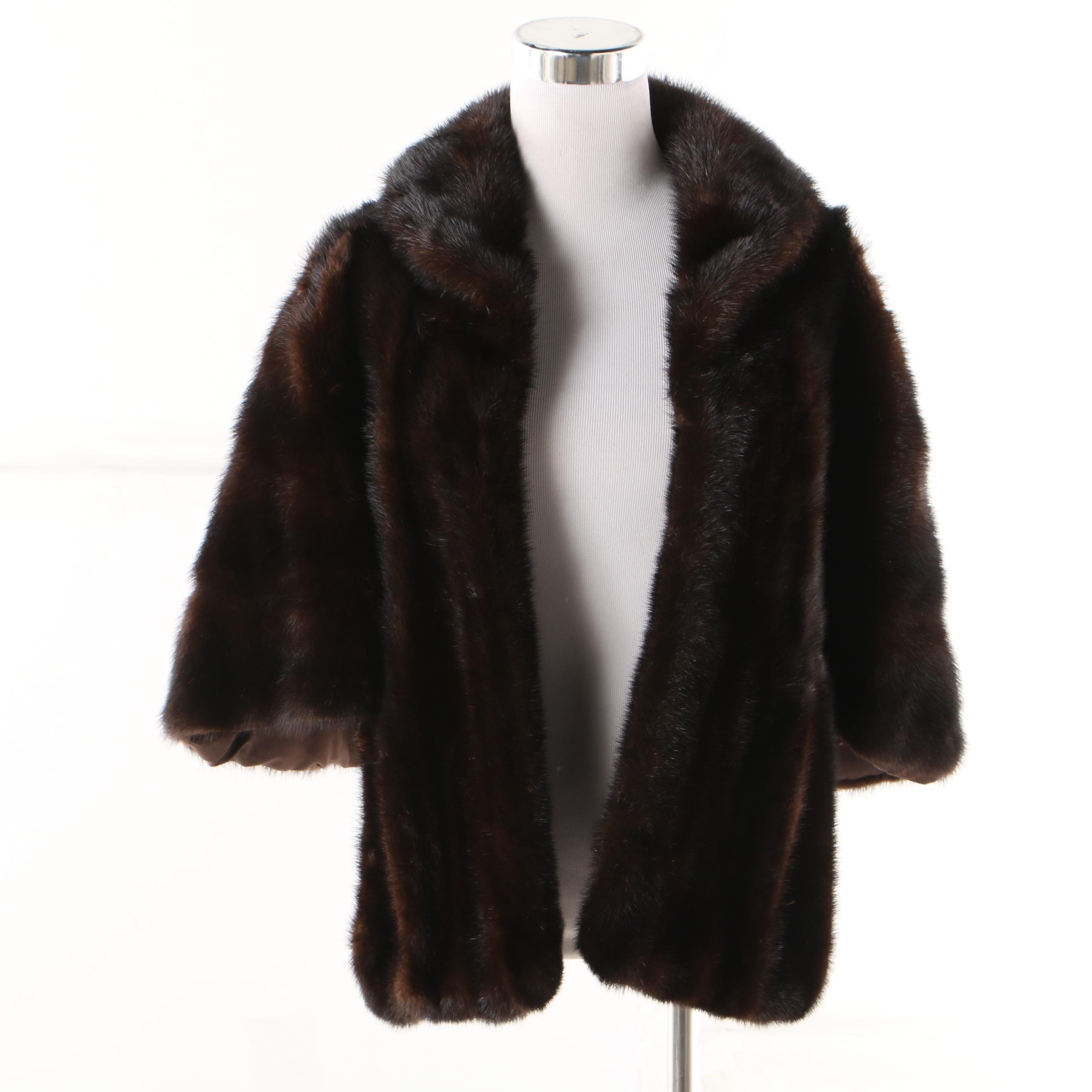 Women's Vintage Marshall Field & Company Mink Fur Stole