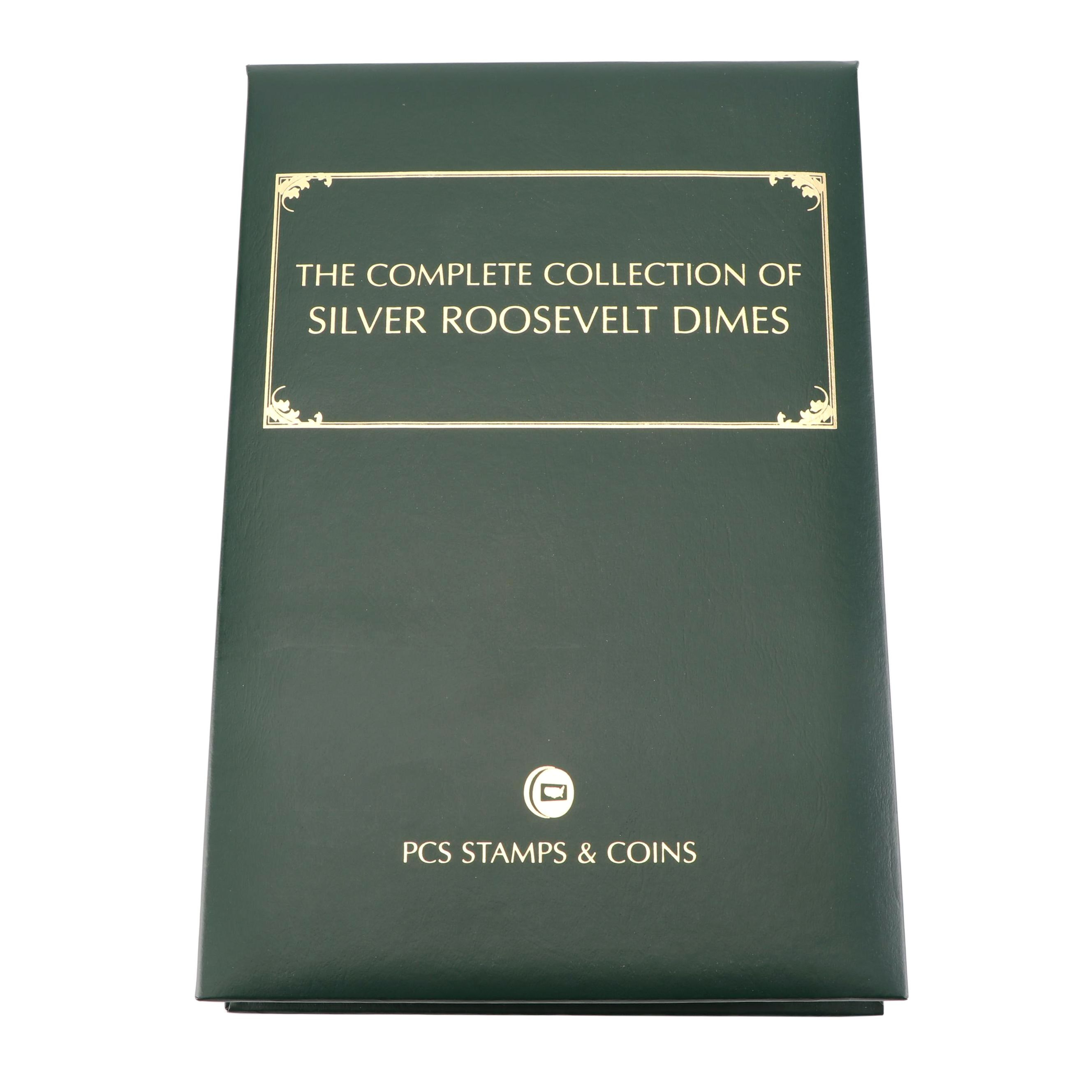 PCS The Complete Collection of Silver Roosevelt Dimes Album