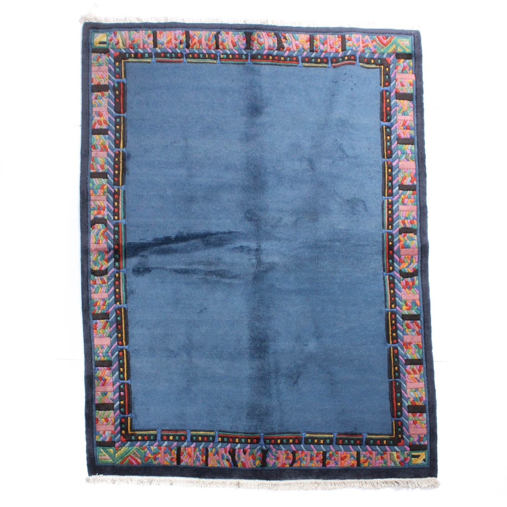 Hand-Knotted Tibetan Modern Style Rug
