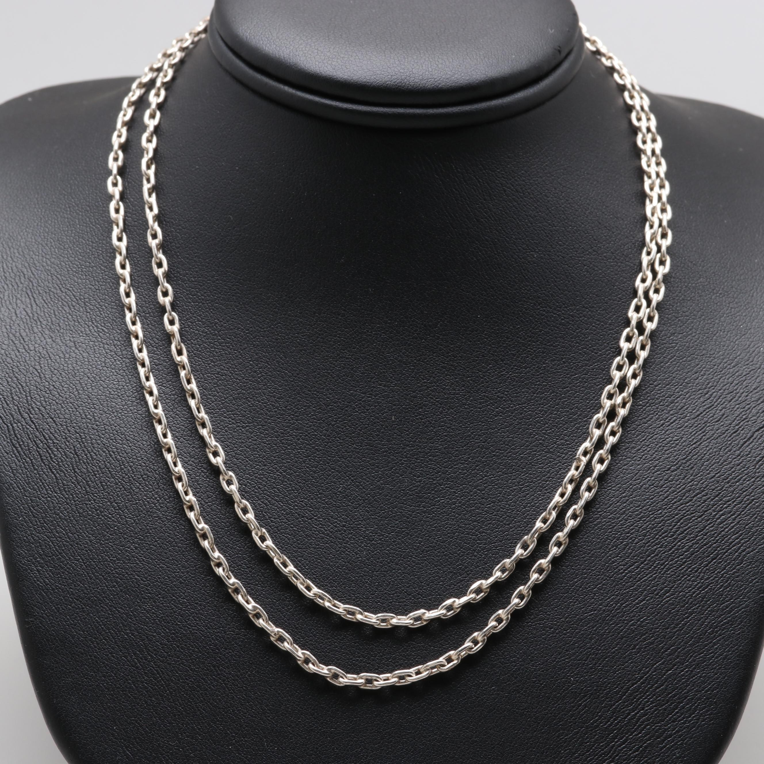 Sterling Silver Rolo Chain