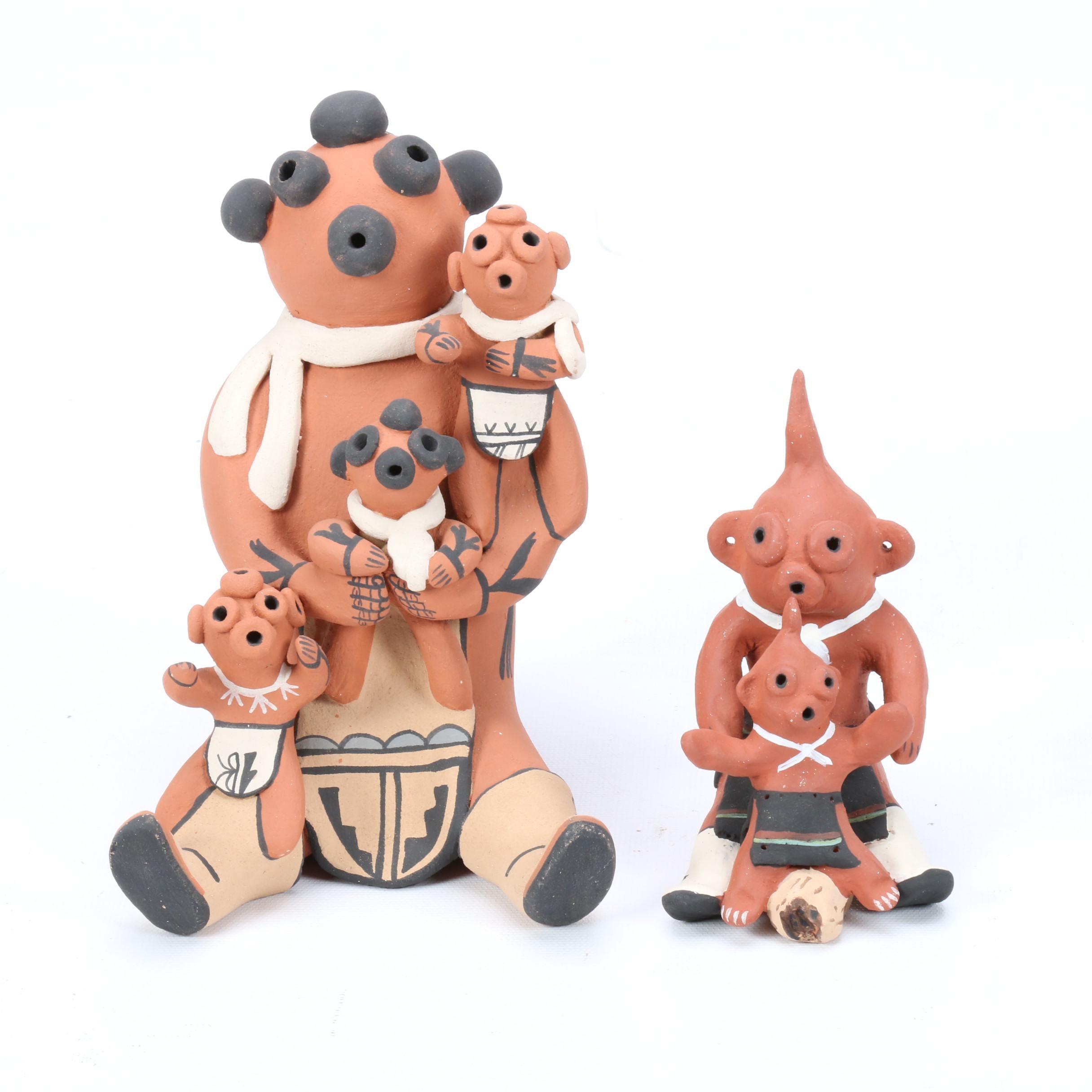 Josie Hand and E. Fragua Tsosie Jimez Pueblo Storytellers