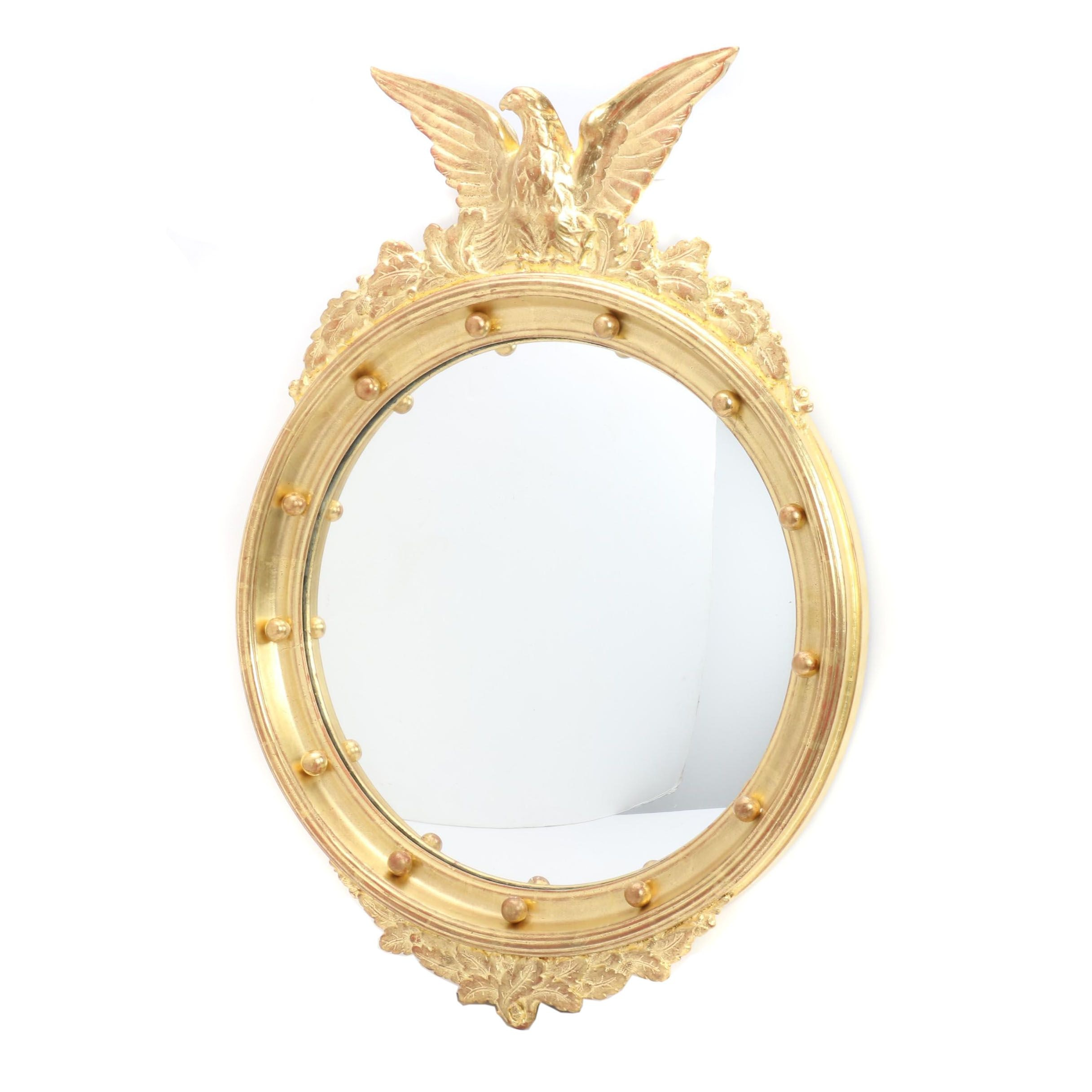 Federal Gilt Girandole Mirror