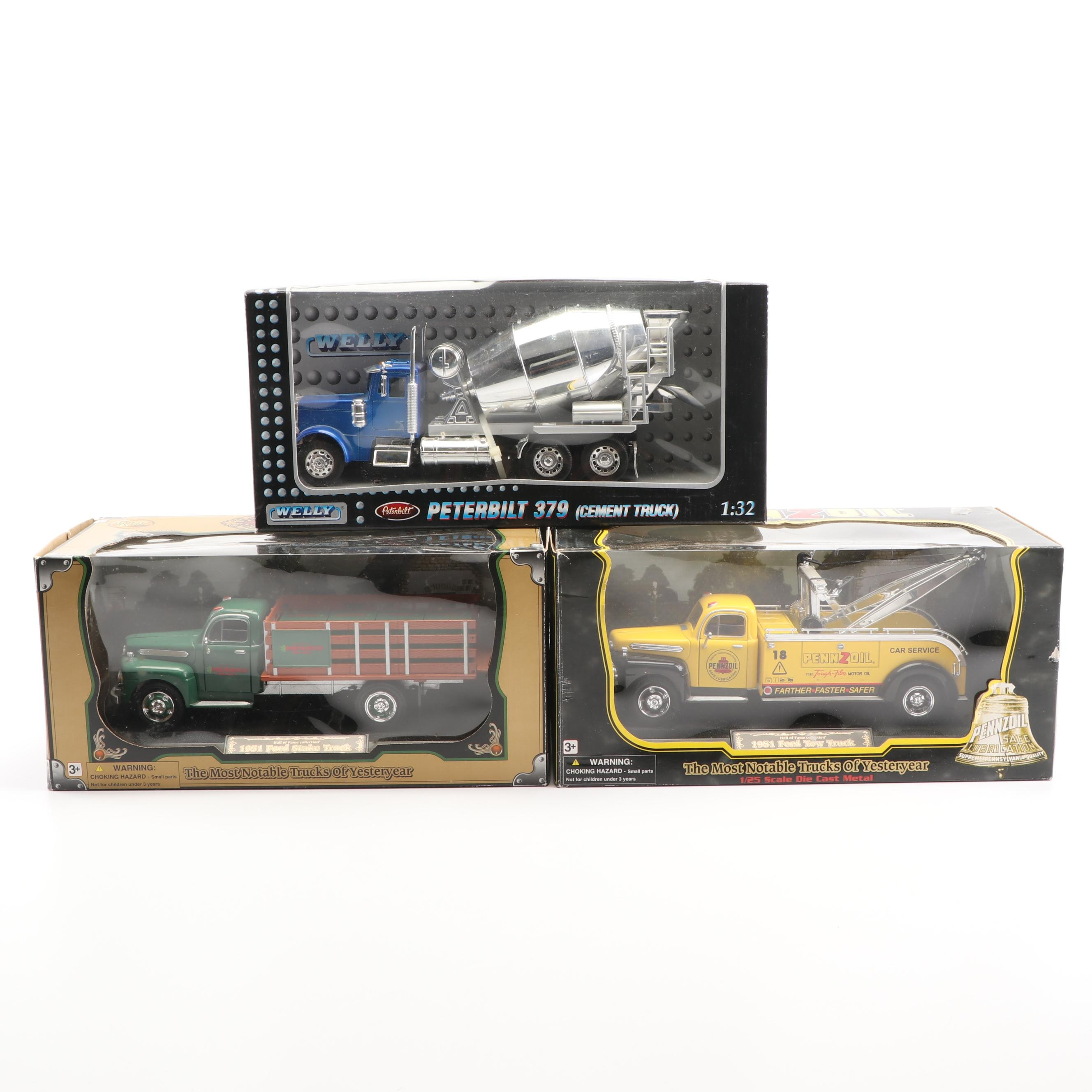 1950s Die-Cast Trucks including Welly