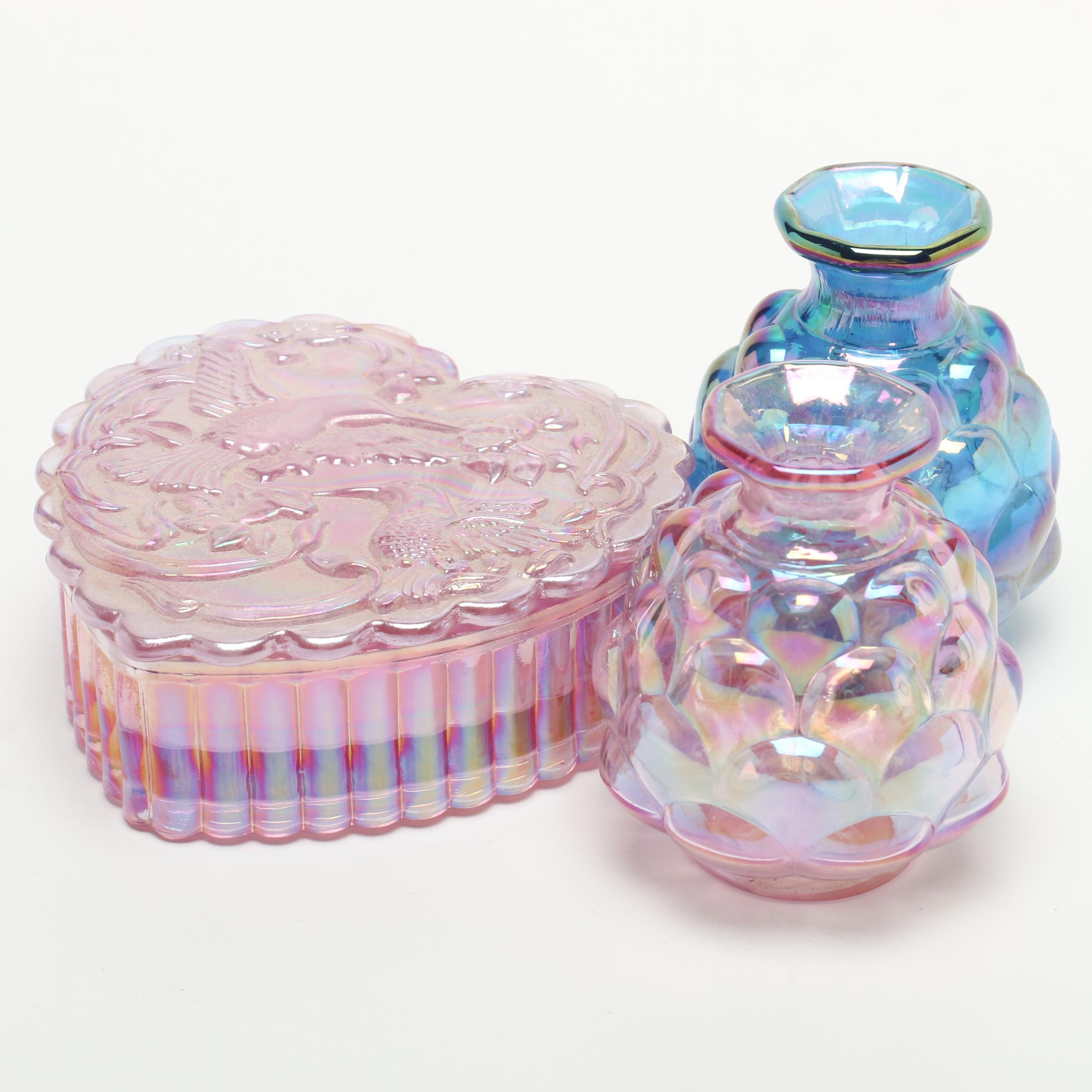 Fenton Glass Decor