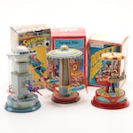 Schylling Mechanical Wind-Up Carousels featuring Superman