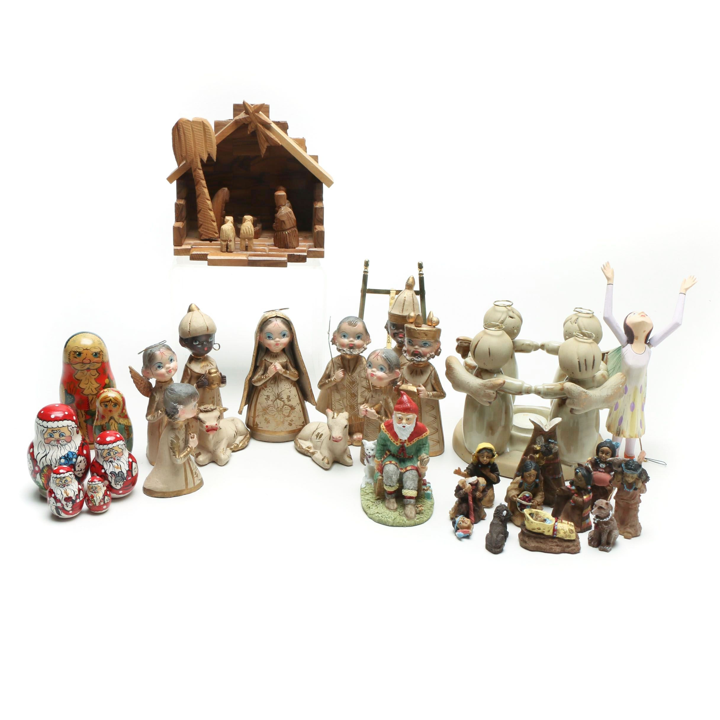 Seasonal Decor and Nativity Ornaments