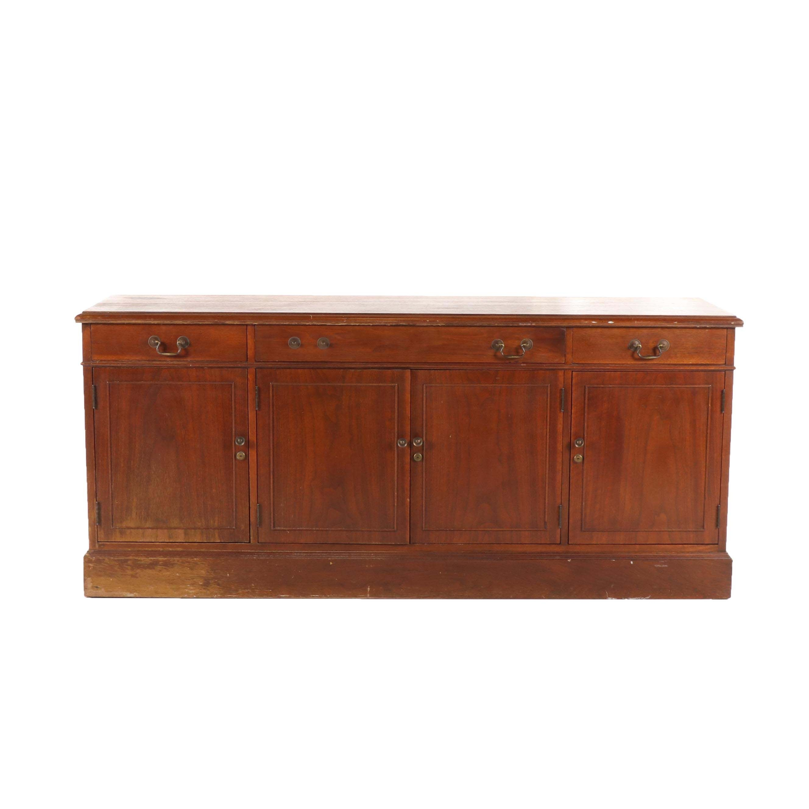 Federal Style Mahogany Sideboard, Mid-20th Century