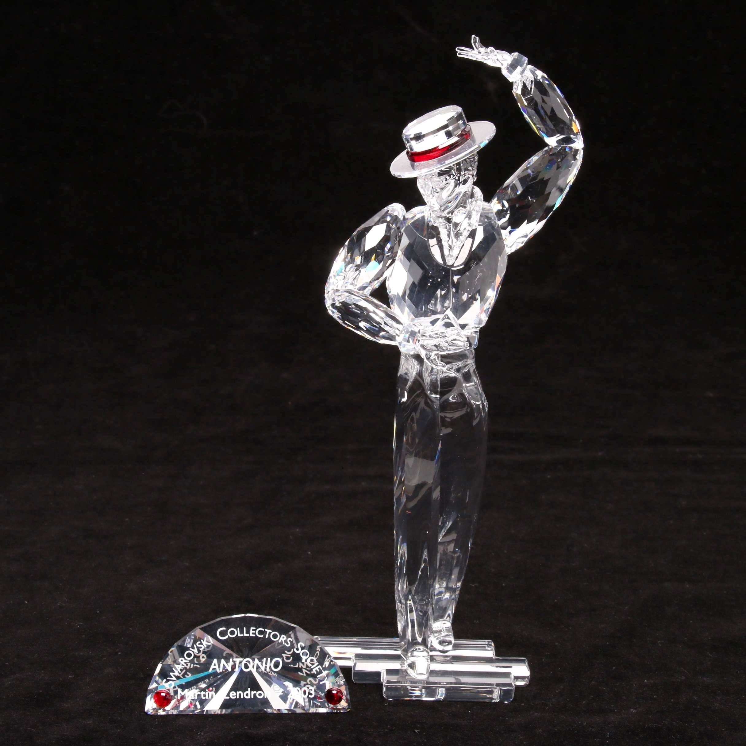 "Swarovski Crystal Collector's Society 2003 ""Magic of Dance"" Antonio Figurine"