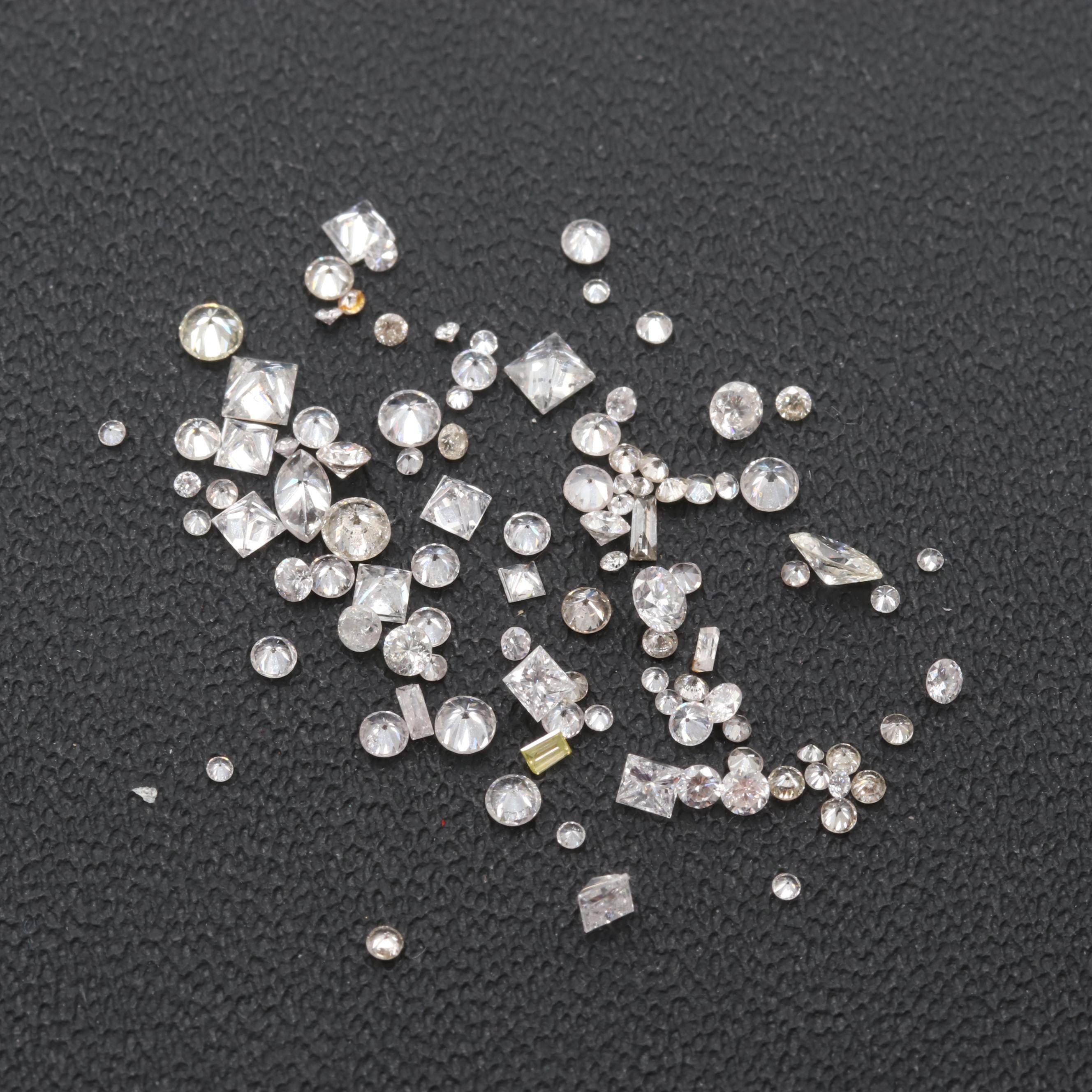 Loose 2.46 CTW Diamond