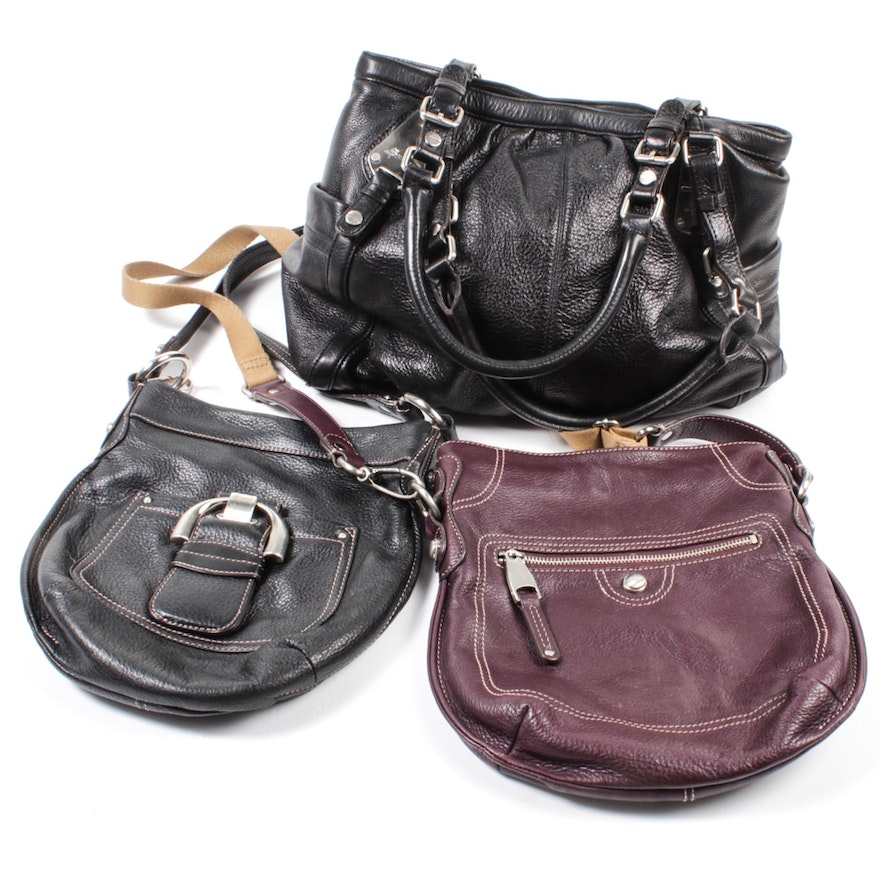 06504881882b B. Makowsky Pebble Leather Purses Featuring Westbourne Crossbody   EBTH