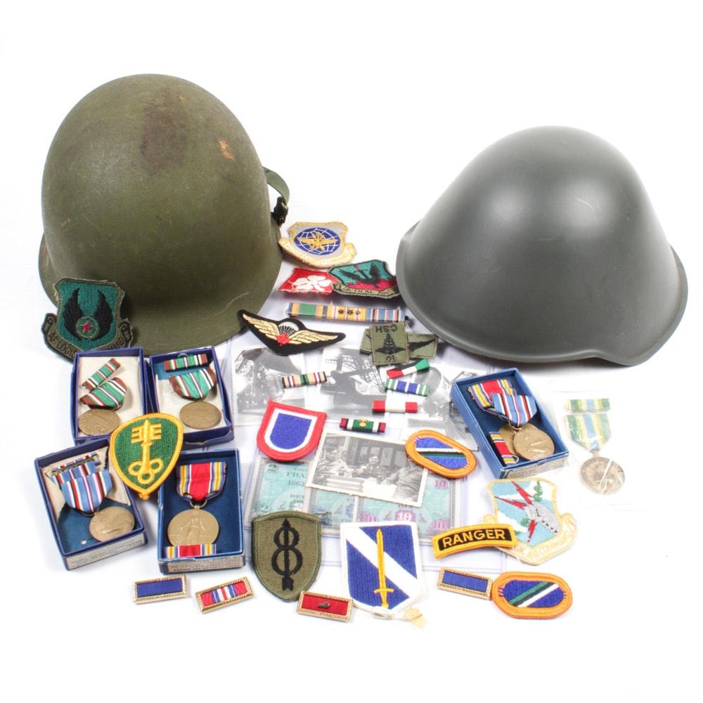 WWII and Mid-Century Military Memorabilia