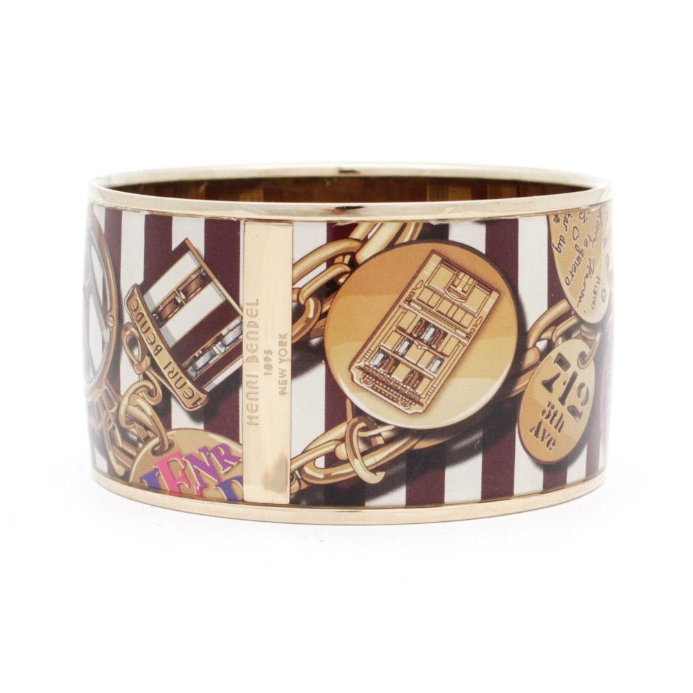 Henri Bendel Wide Bangle Bracelet Ebth