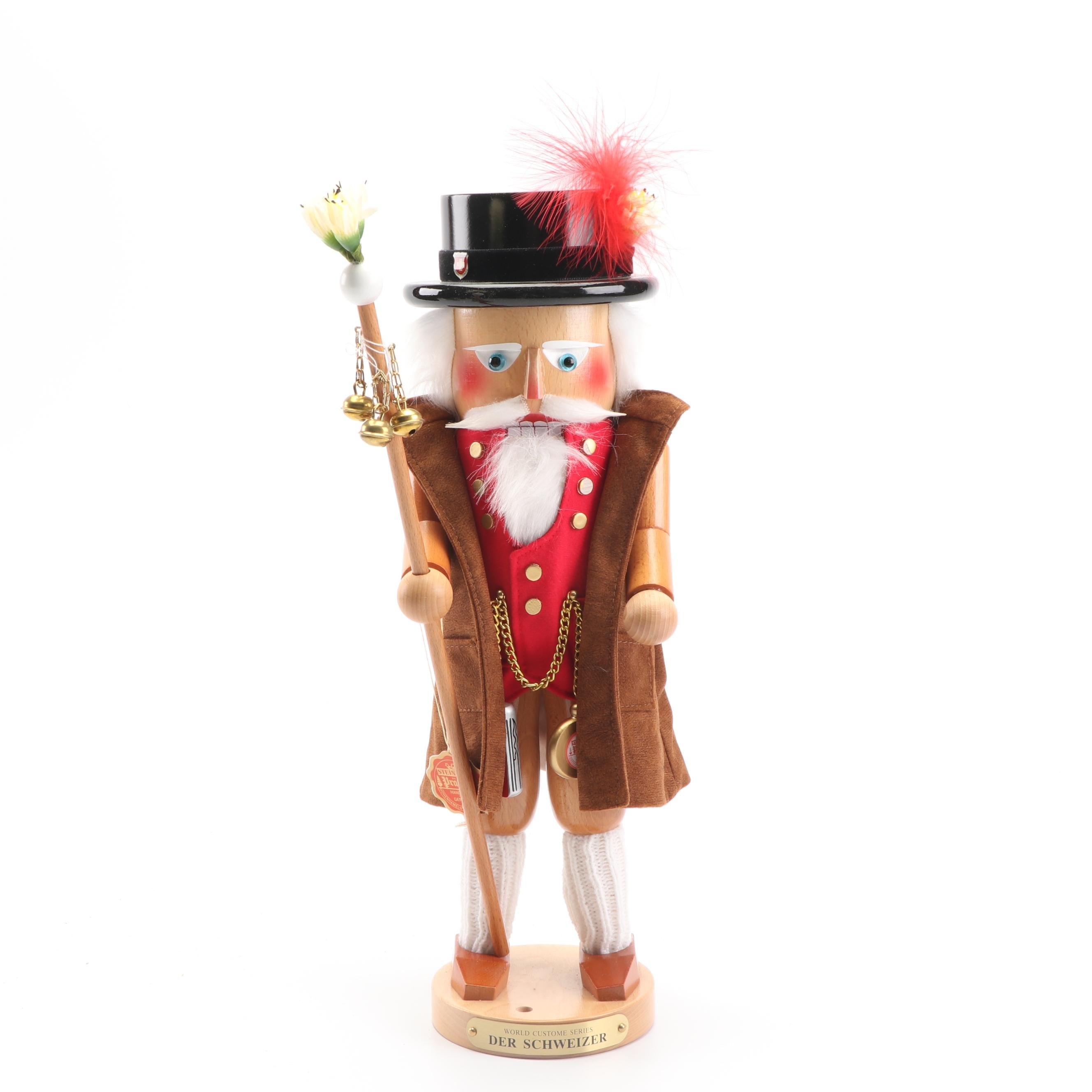 "Steinbach ""World Costume Series- Der Schweizer"" Nutcracker"