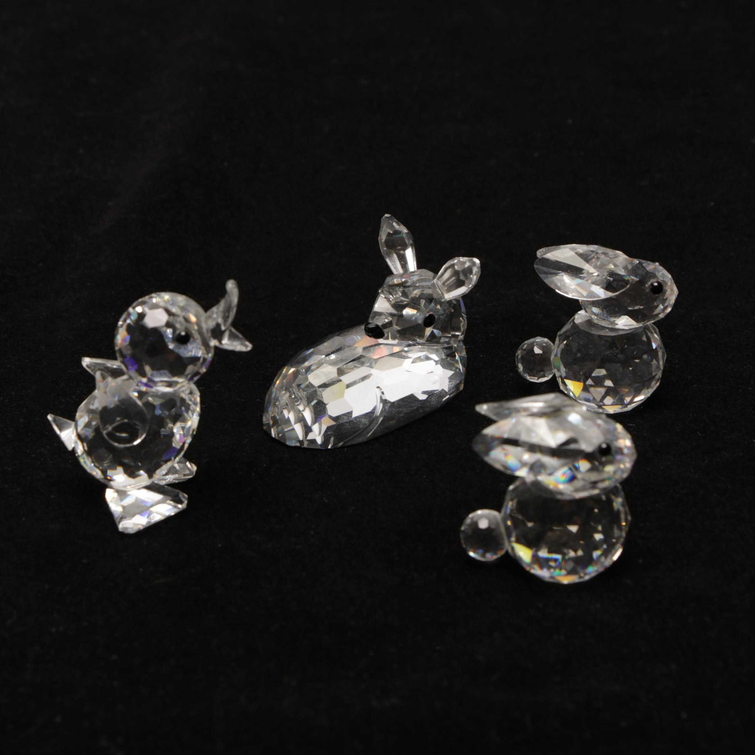 Swarovski Crystal Animal Miniatures