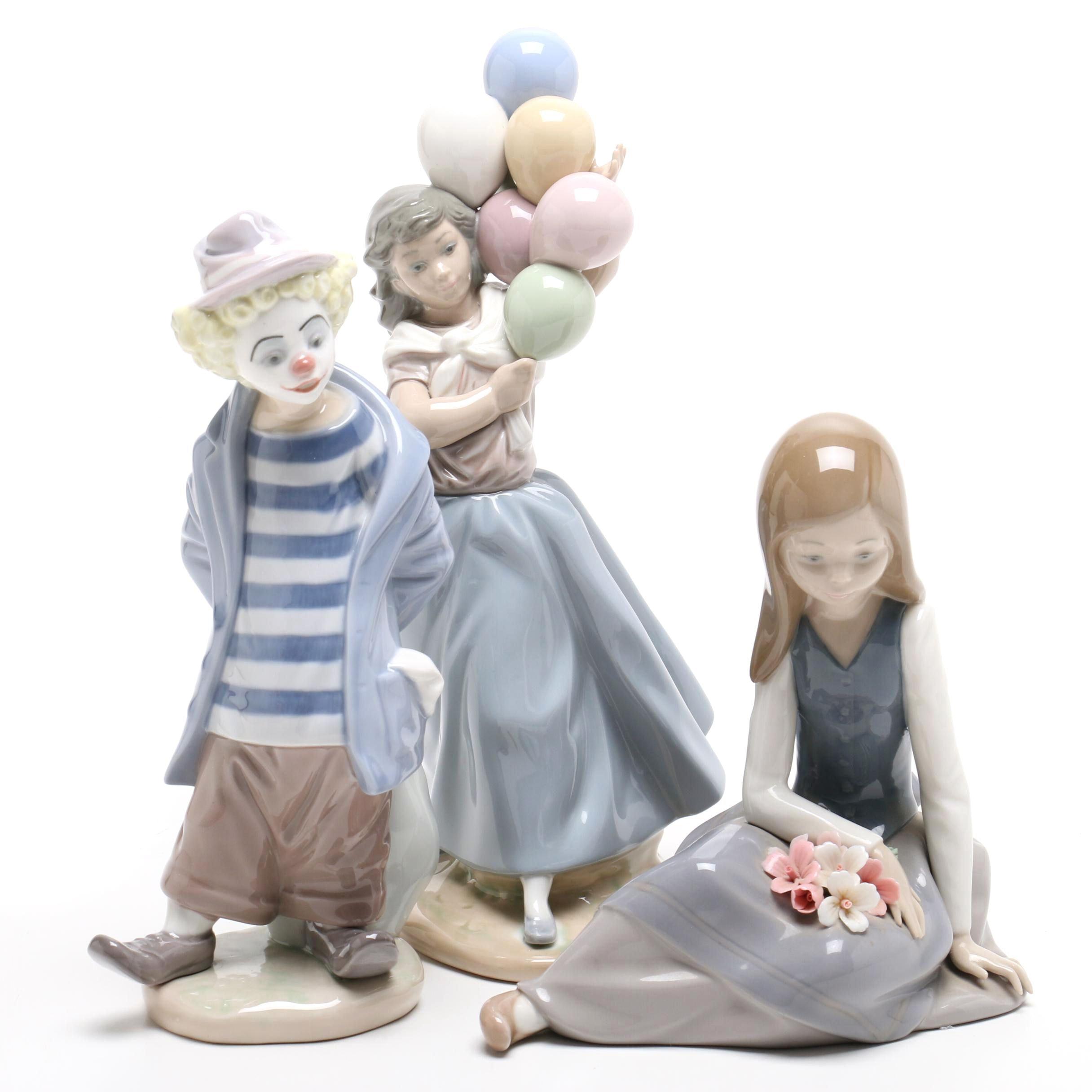 Three Lladró Figurines