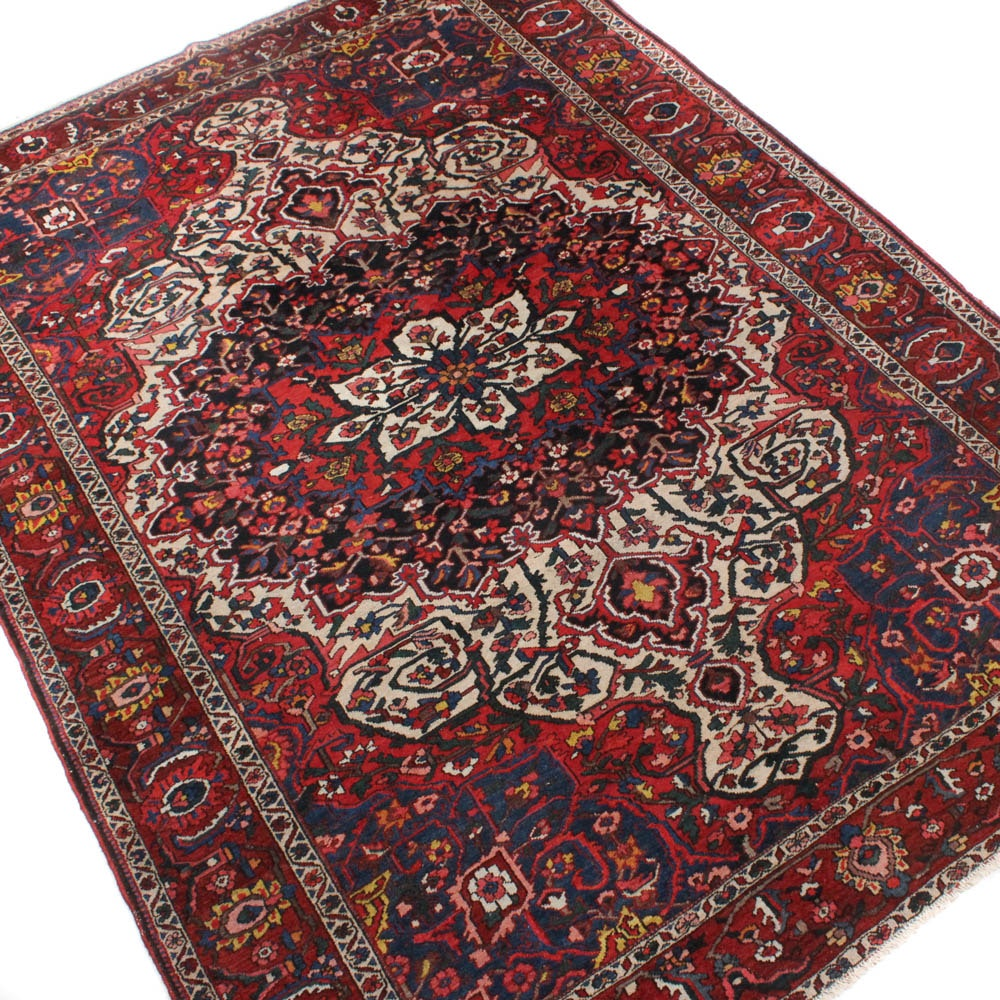 Hand-Knotted Persian Baktiari Room Size Rug