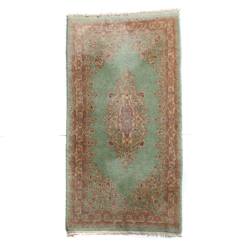 2'6 x 5'0 Hand-Knotted Persian Kerman Rug