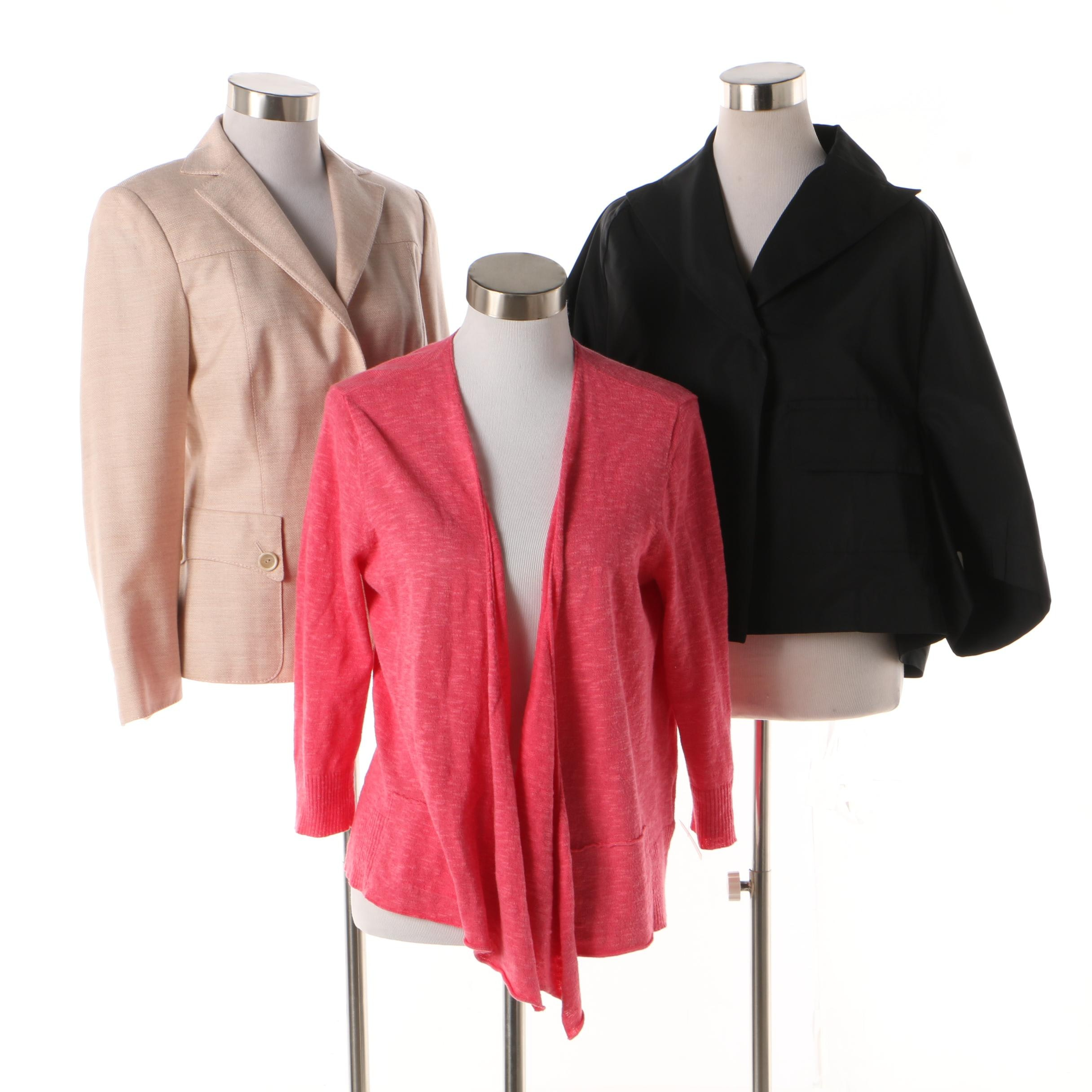 Women's Akris and Piazza Sempione Jackets with Eileen Fisher Cardigan
