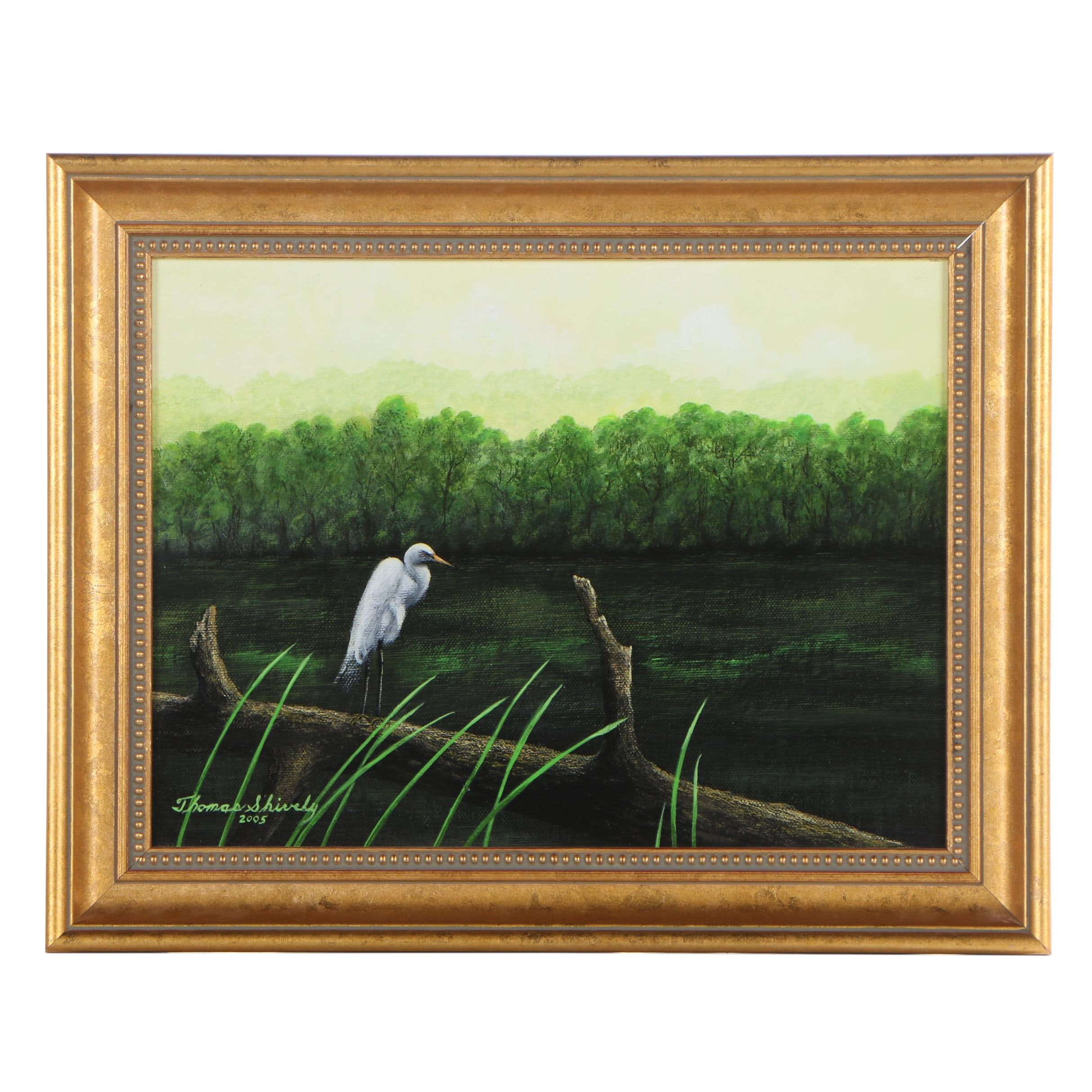 Thomas H. Shively 2005 Oil Painting