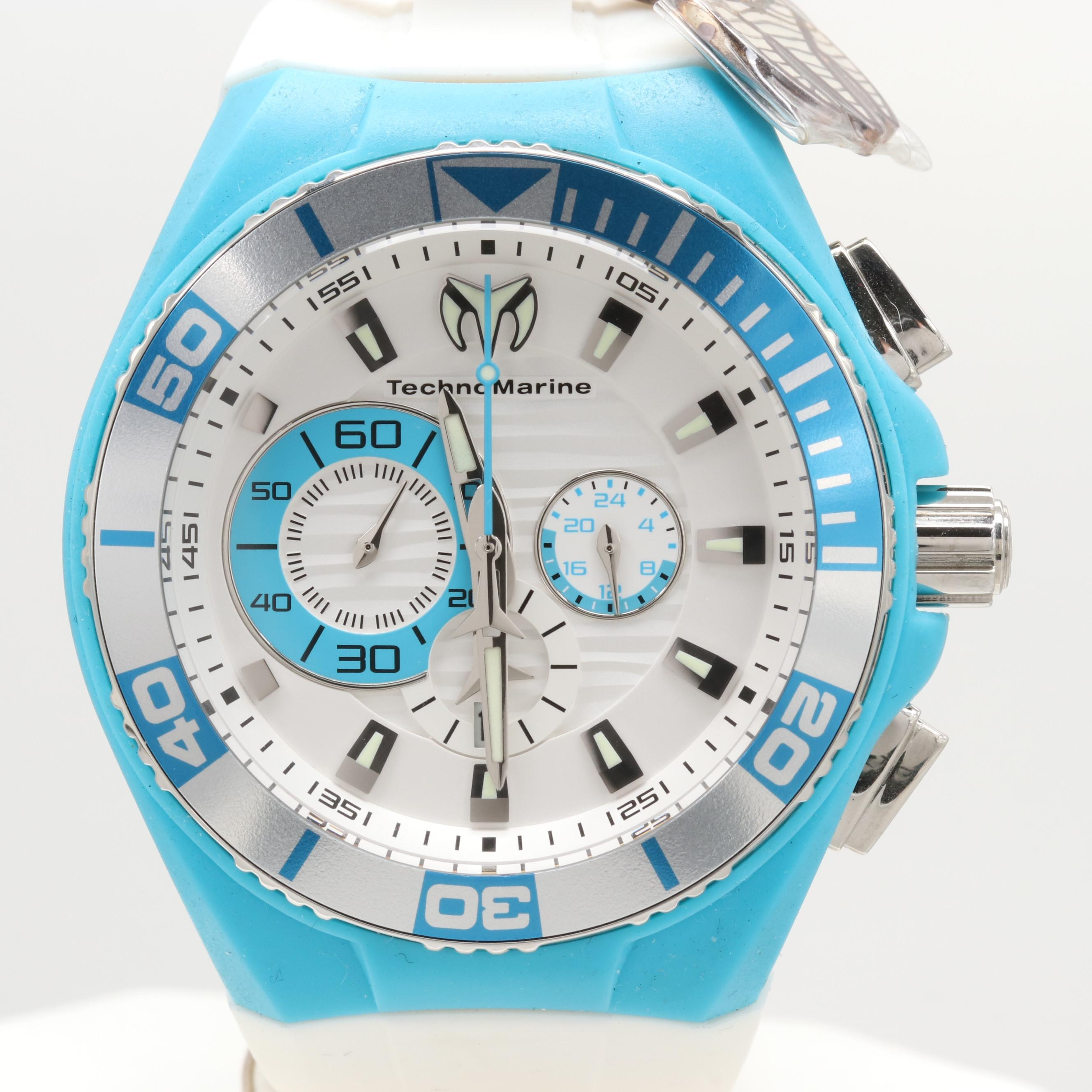 Technomarine Stainless Steel Cruise Locker Charm Wristwatch