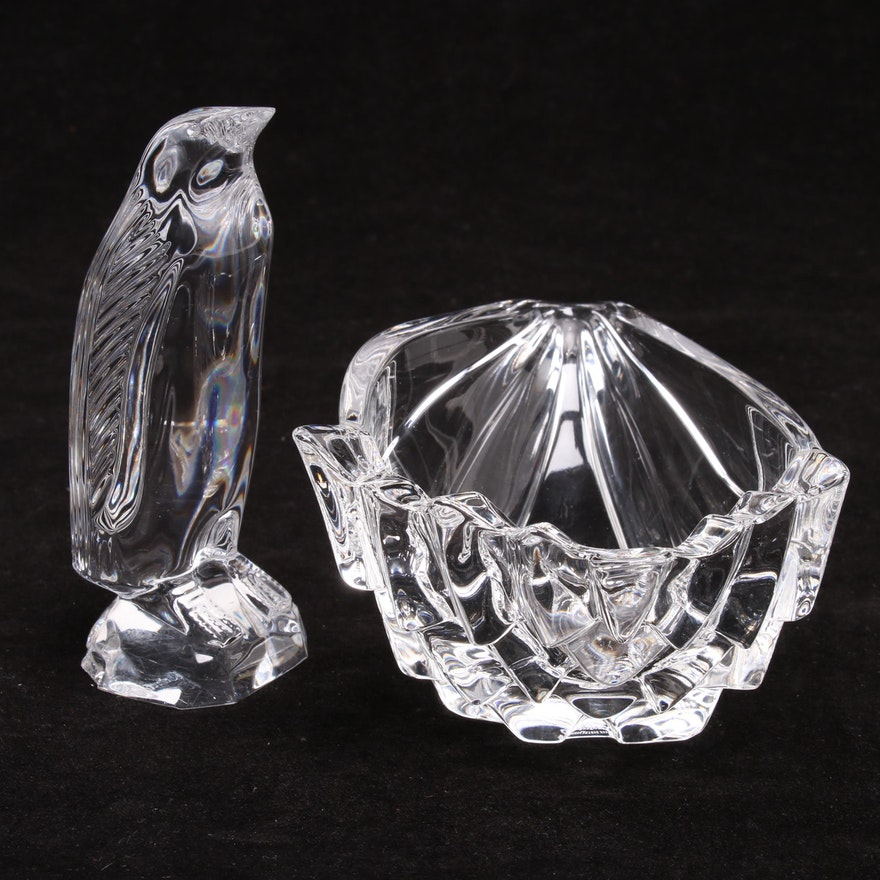 cc74cd6e3 Waterford Crystal Penguin and Marquis Waterford Candy Dish : EBTH