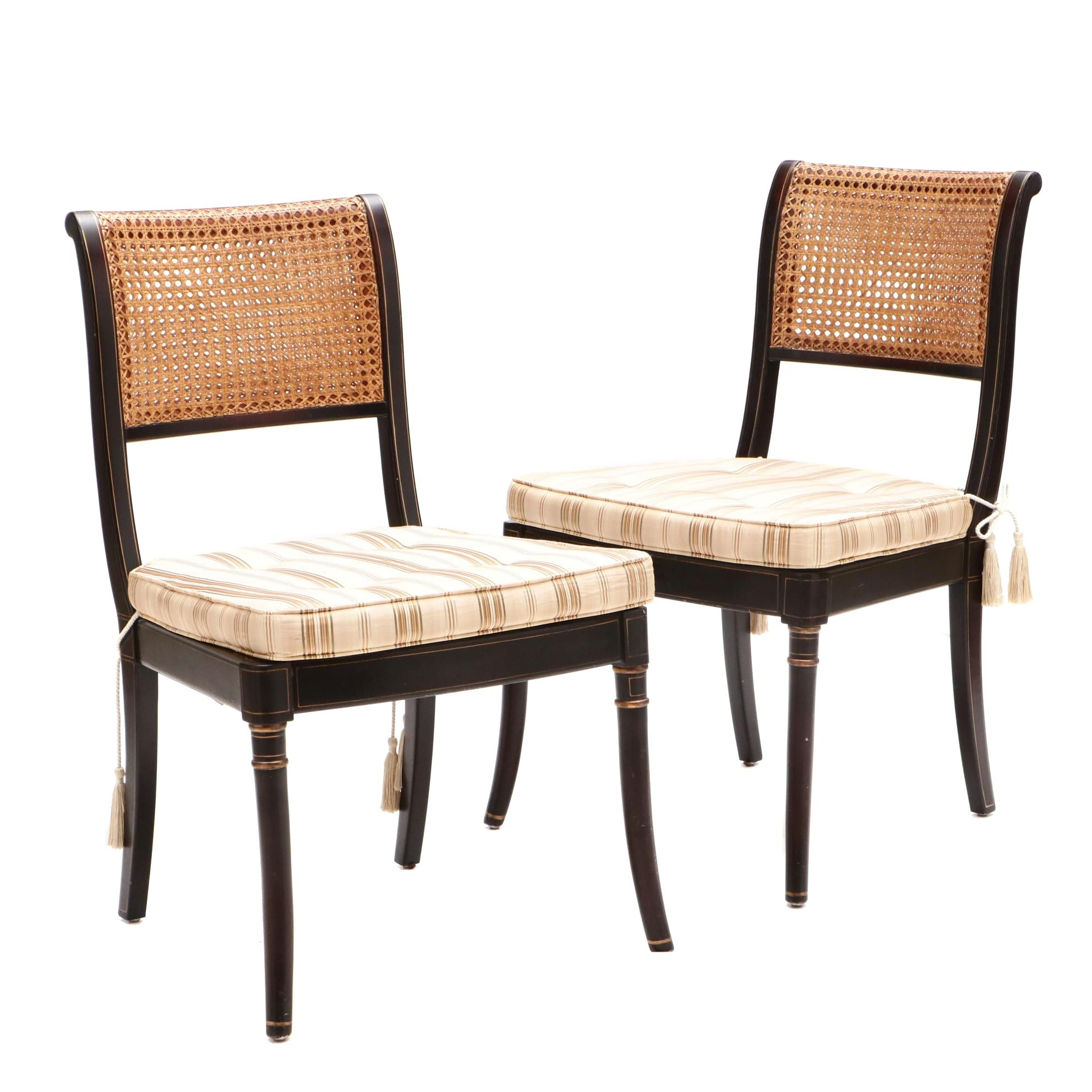 Stewart by James River Hickory Side Chairs