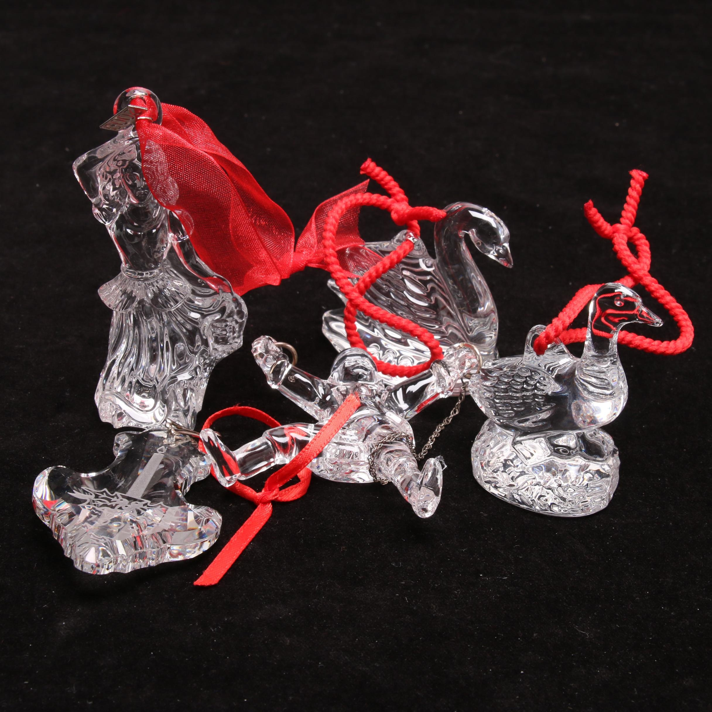 Waterford Crystal Figural Ornaments