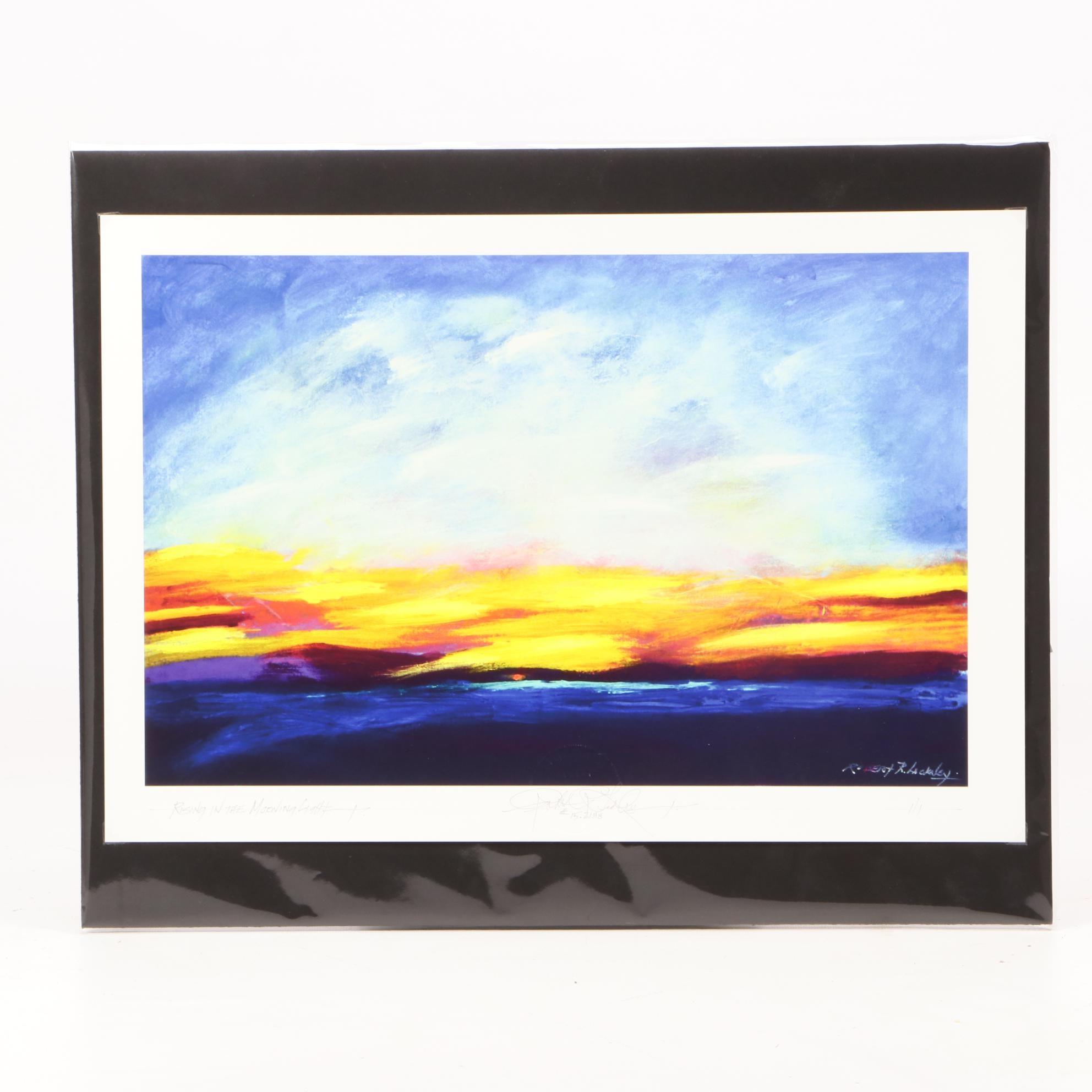 """Robert Lackney Giclee Print """"Kissing in the Morning Light"""""""