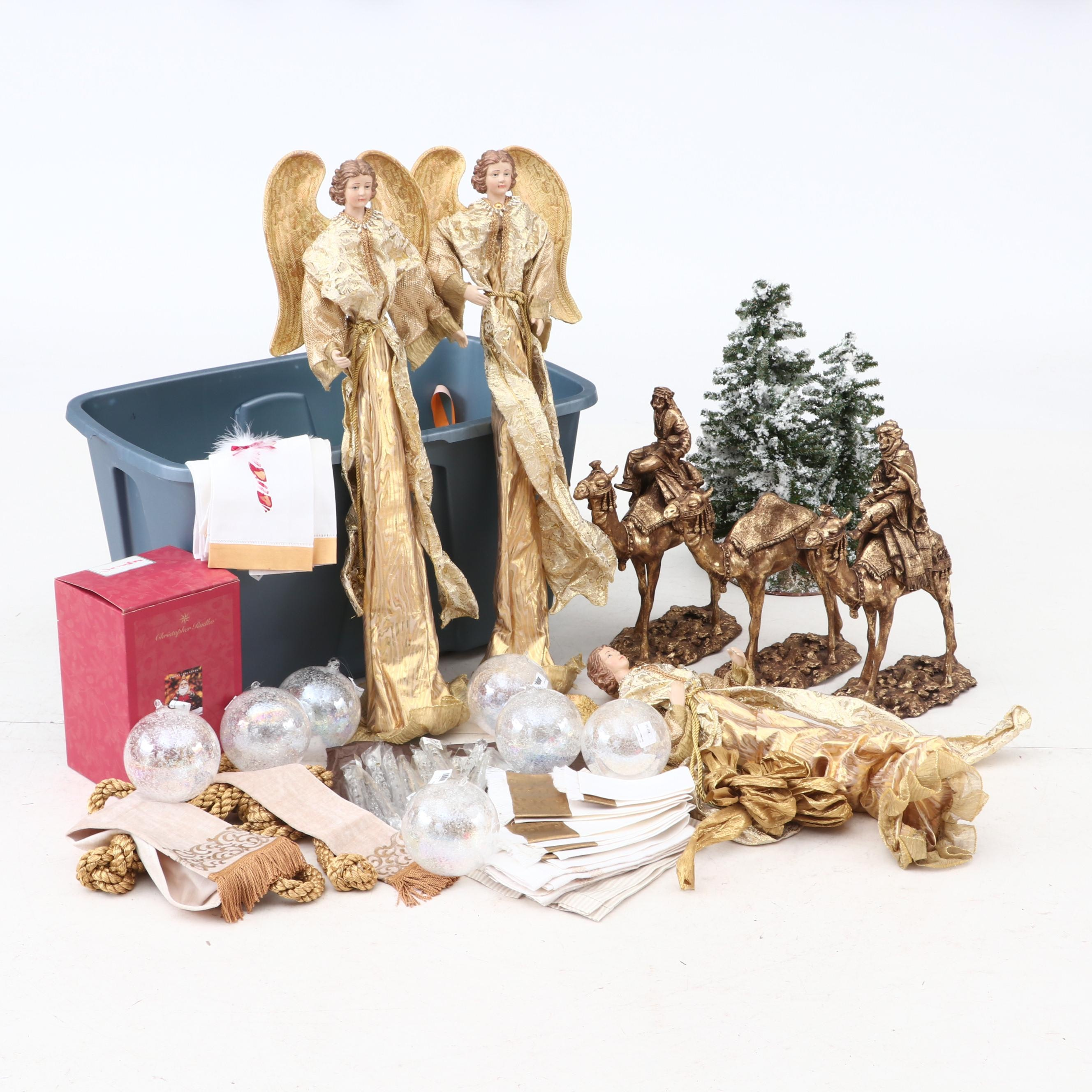 Holiday Decor, Figurines, and Ornaments