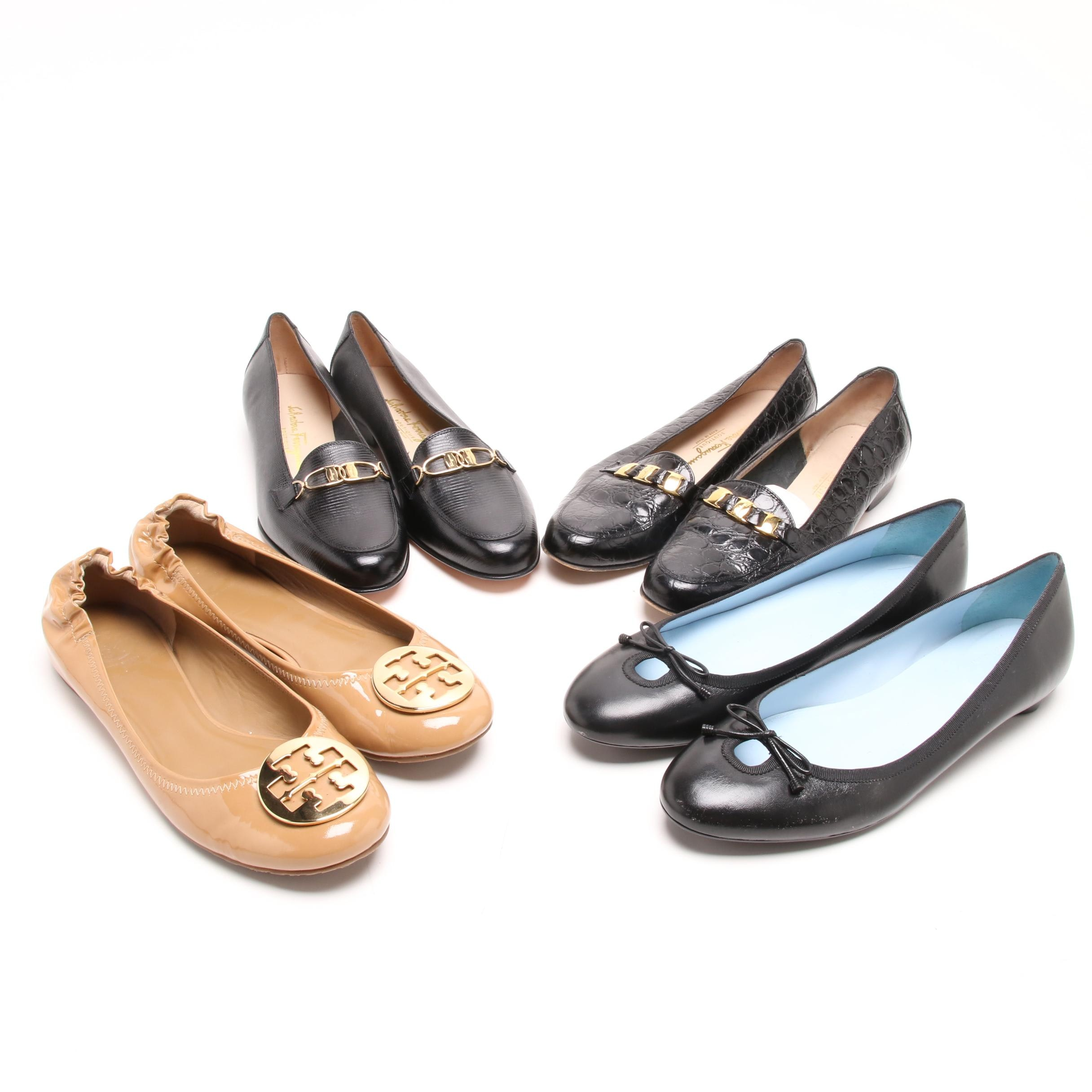 Women's Flats and Low Heel Shoes Including Salvatore Ferragamo Boutique