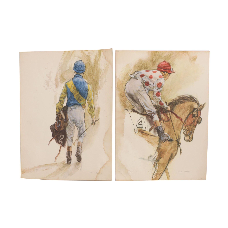 "Henry Koehler ""Portfolio of Colours"" Offset Lithographs"