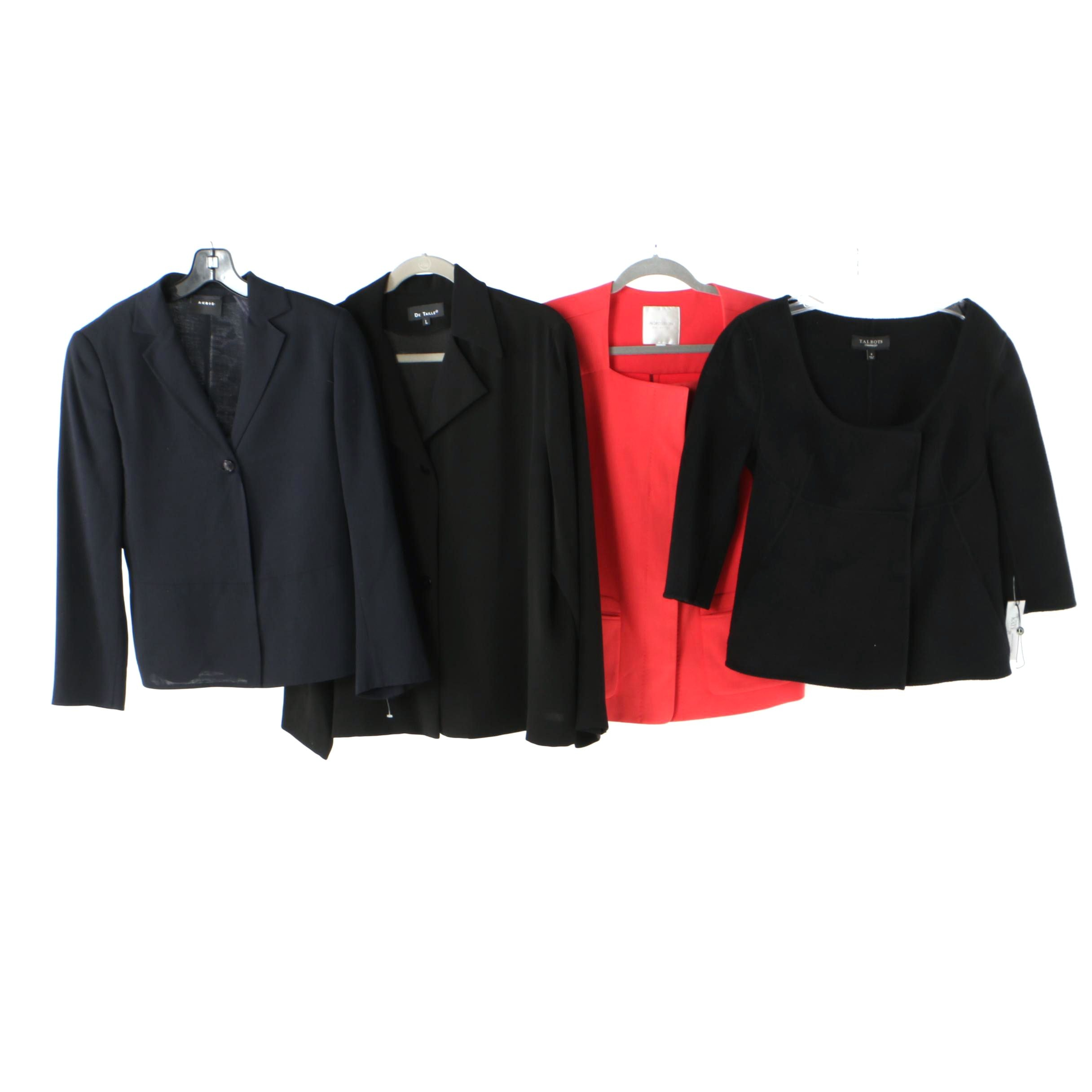 Contemporary Jackets with A-K-R-I-S, Talbots, De Talle and Nordstrom