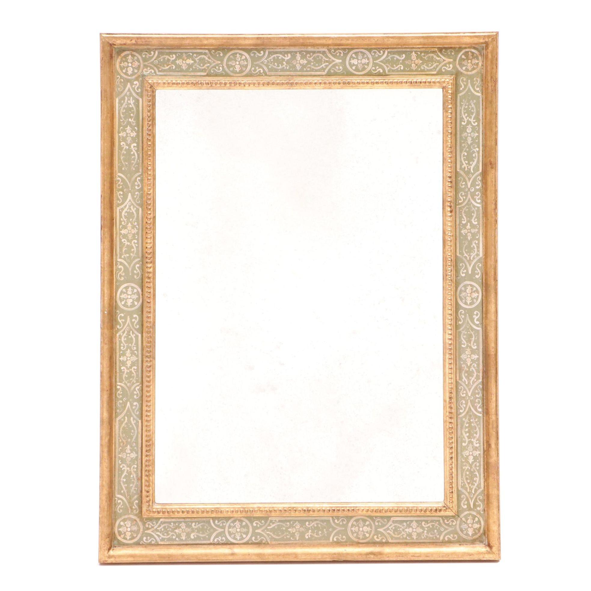 Oggetti D'Autore Painted Mirror
