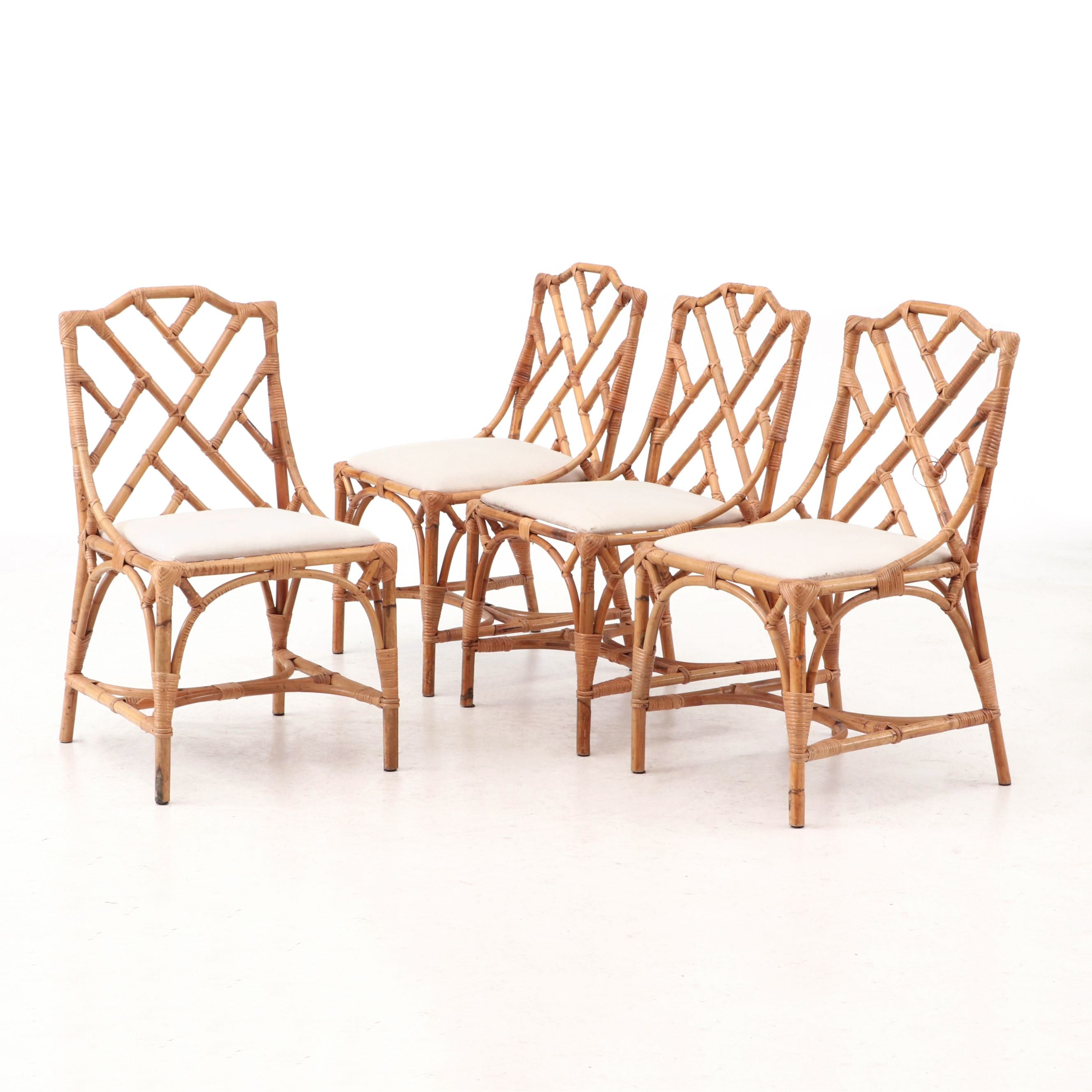 McGuire Style Bamboo Chairs