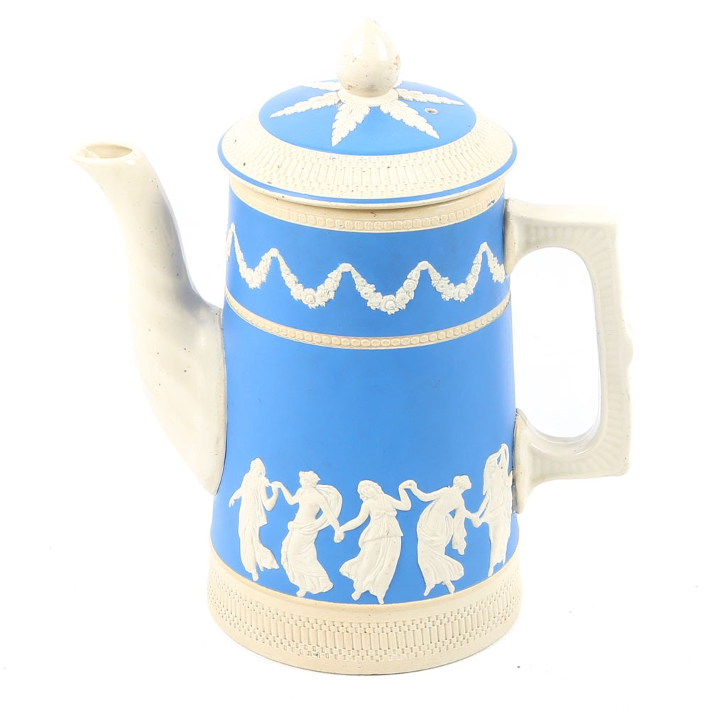 Copeland Spode Earthenware Coffee Pot