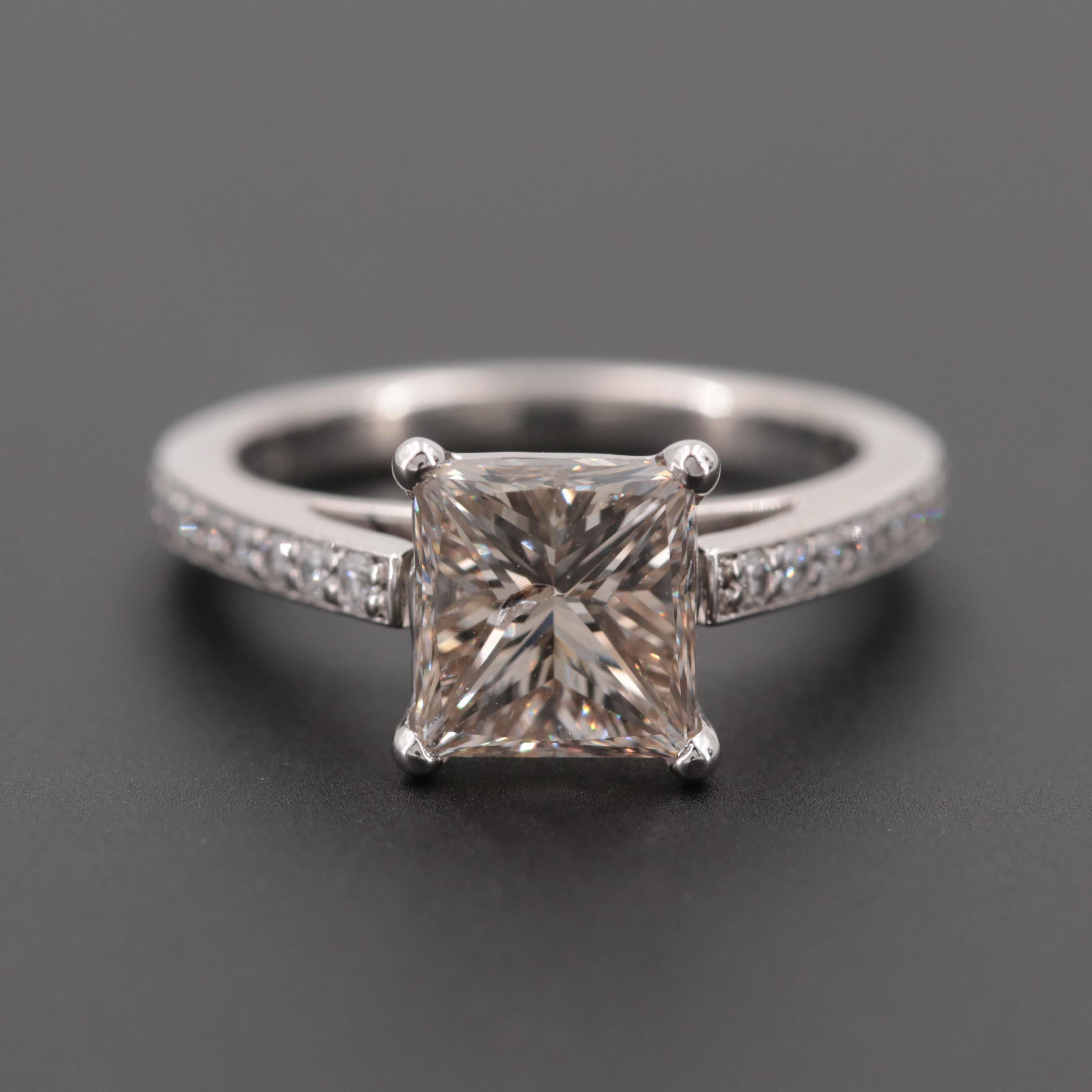 Platinum 2.02 CTW Diamond Ring