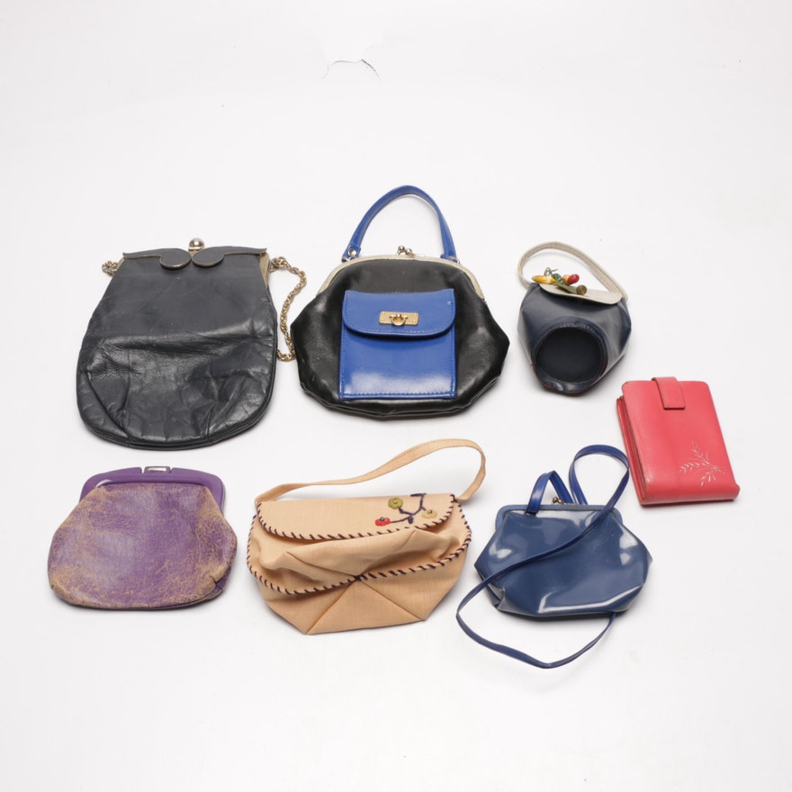 8f74fd77b59be4 Assortment of Vintage Handbags and Wallets : EBTH