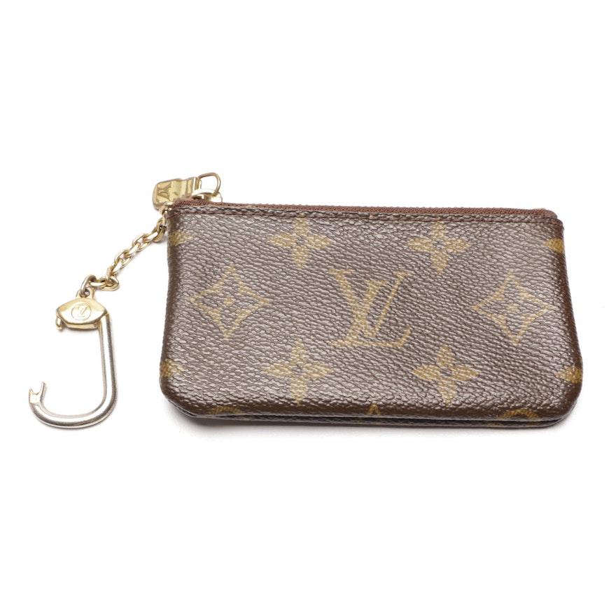 87c2a33be202 2007 Louis Vuitton Monogram Canvas Key Pouch   EBTH