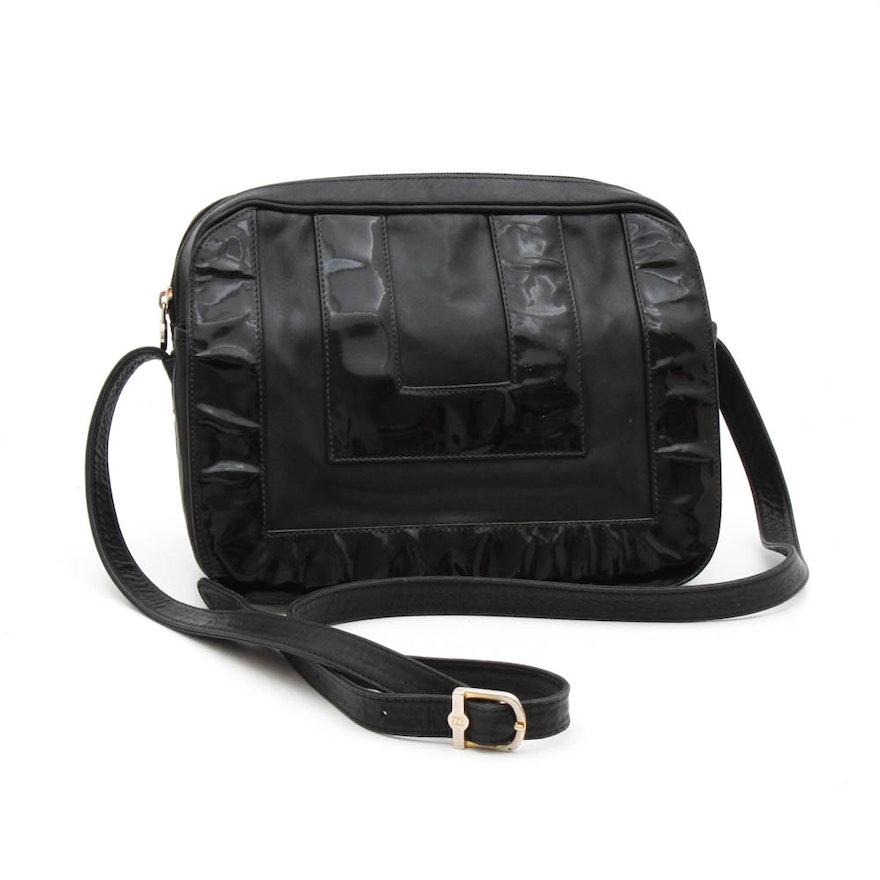 Fendi Black Leather Shoulder Bag   EBTH ae33960344