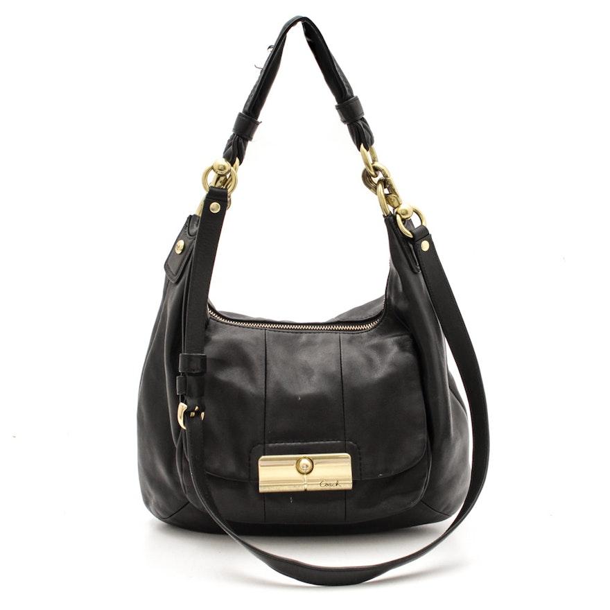 47682c5bb14 Coach Leather Soft Leather Dual-Handle Bag   EBTH