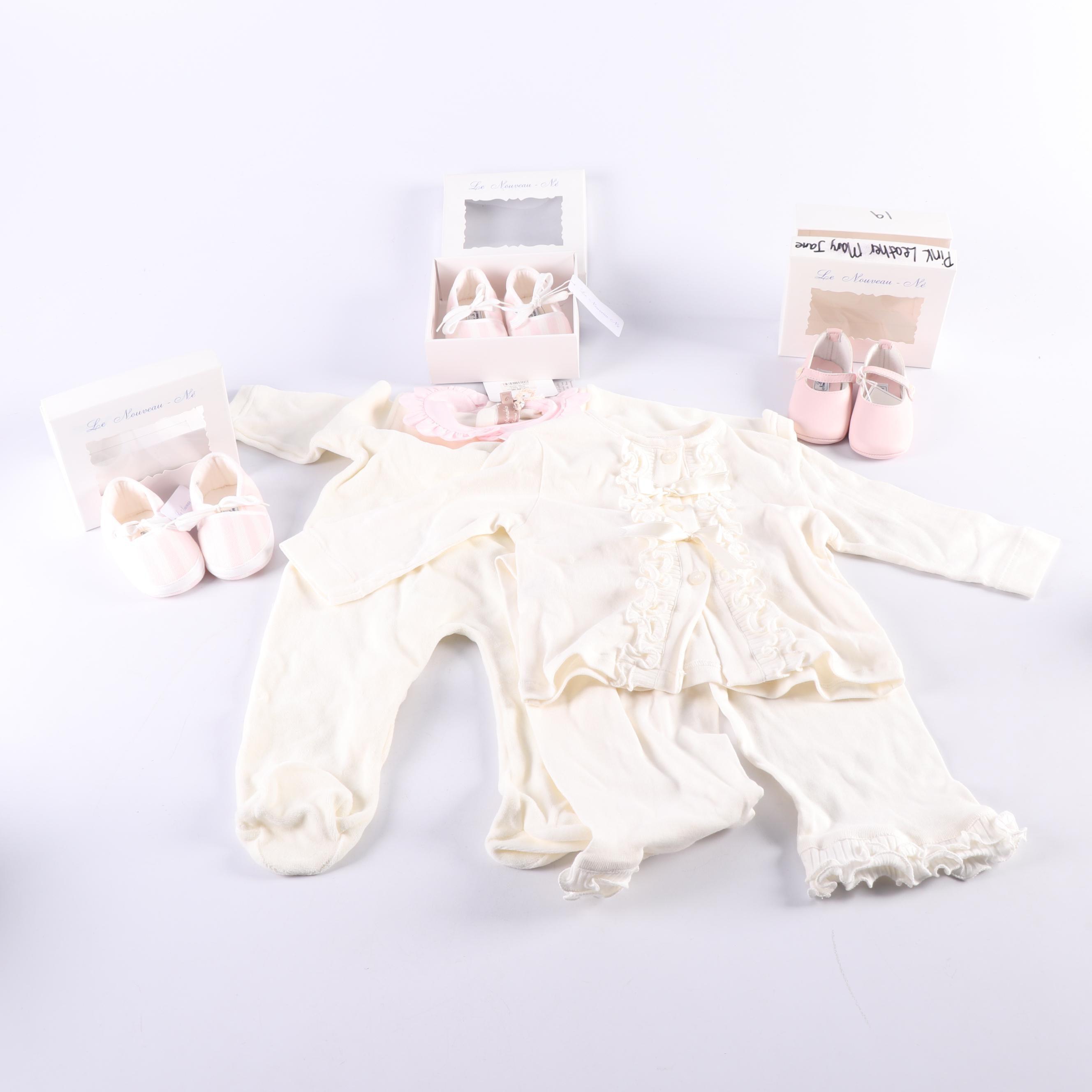 Infants' Odile and La Stupenderia Clothing and Le Nouveau-Nés Shoes